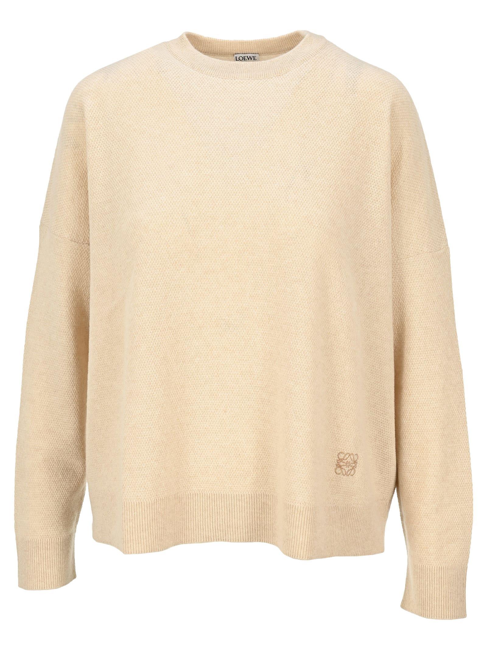 Loewe Sweaters OVERSIZE SWEATER IN CASHMERE