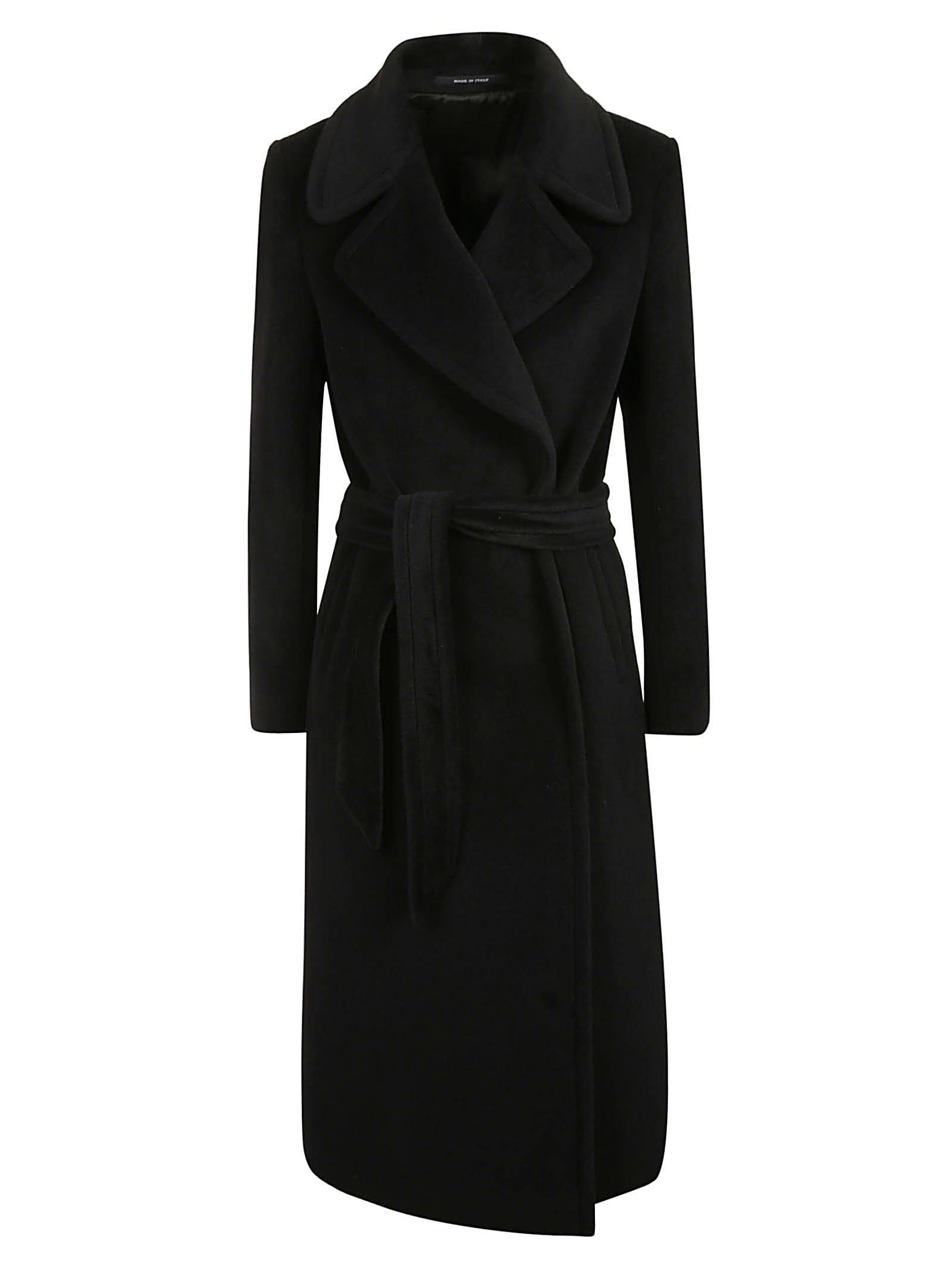 Tagliatore Classic Belted Coat