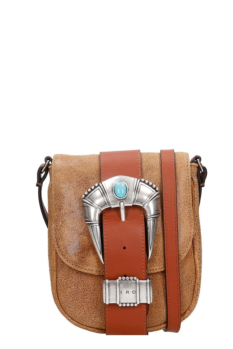 Iro Leathers LEMMY SHOULDER BAG IN LEATHER COLOR LEATHER