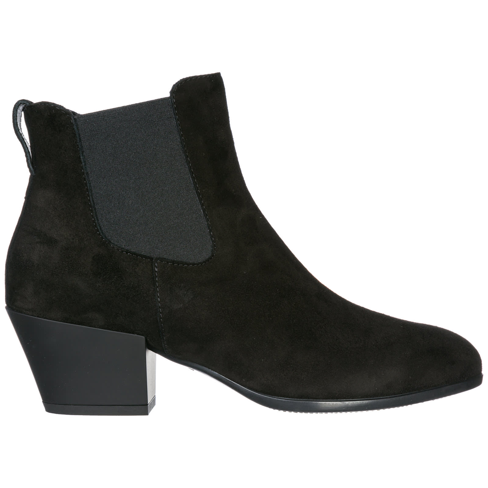 Hogan H401 Heeled Ankle Boots