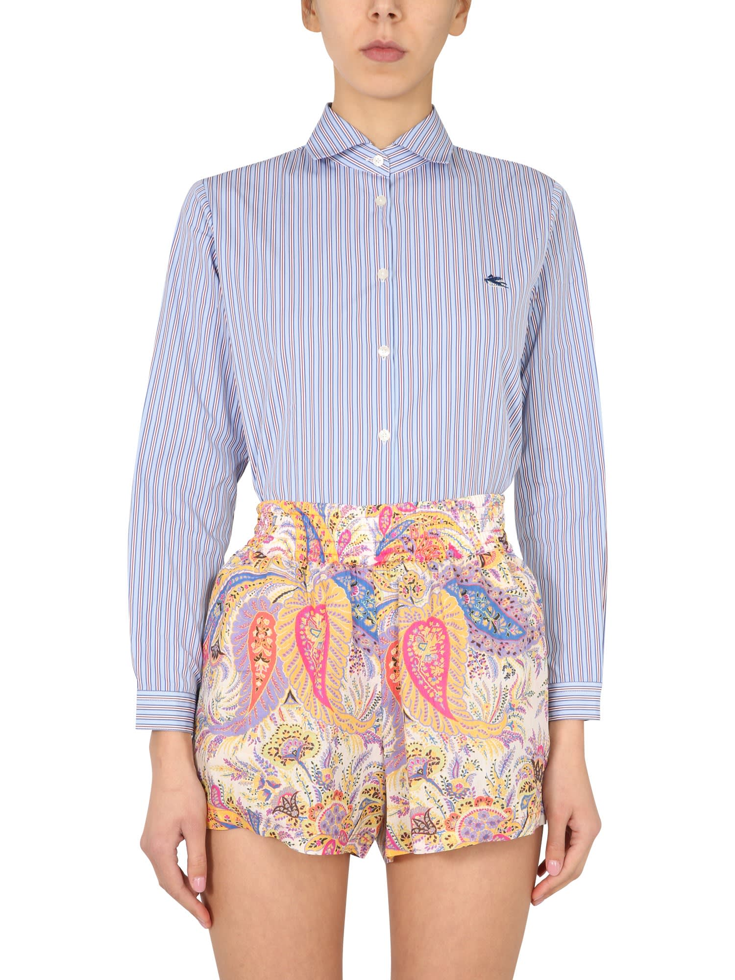 Etro BOY FIT SHIRT