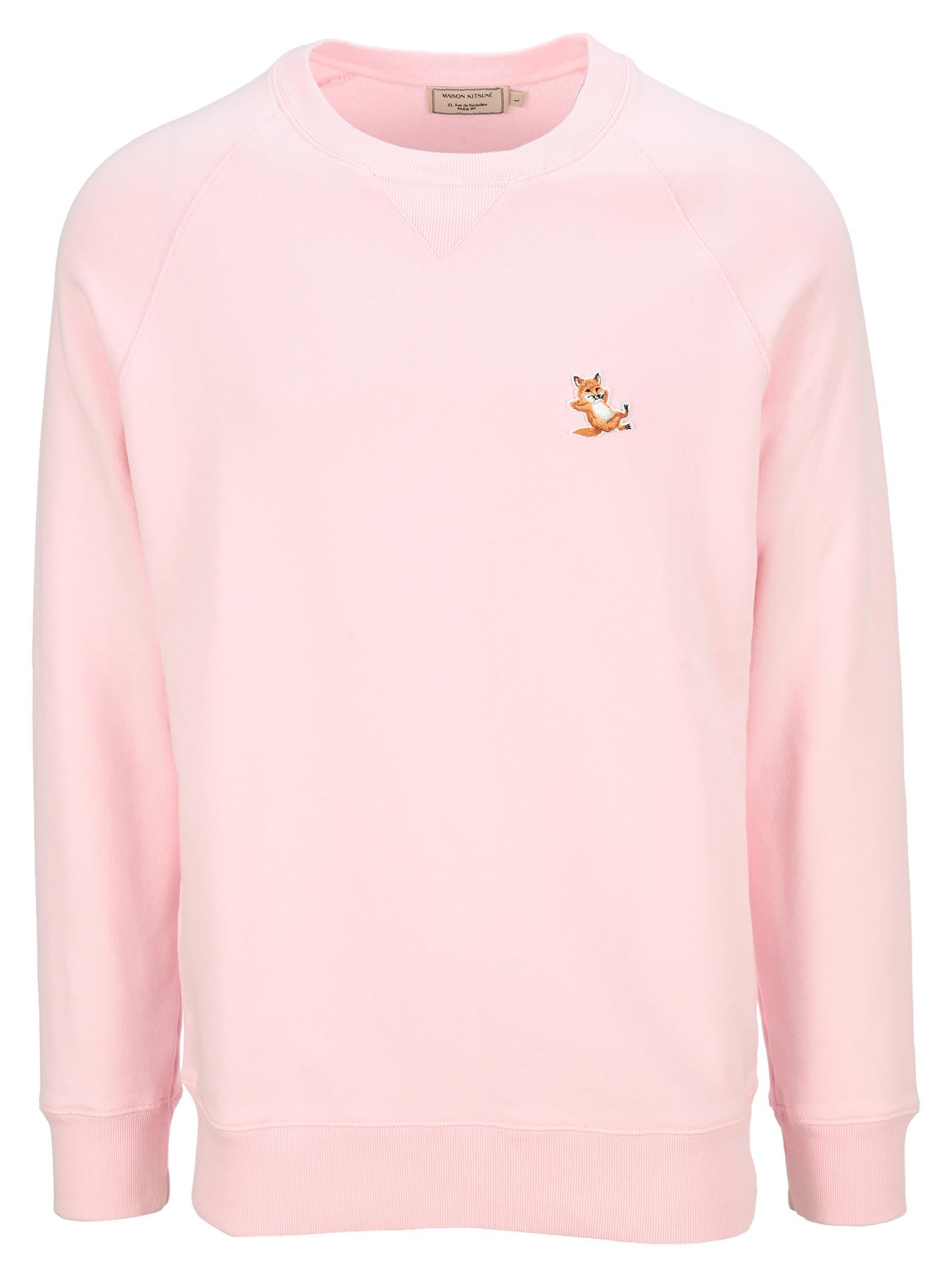 Maison Kitsuné Sweatshirts MAISON KITSUNE CHILLAX FOX CREW