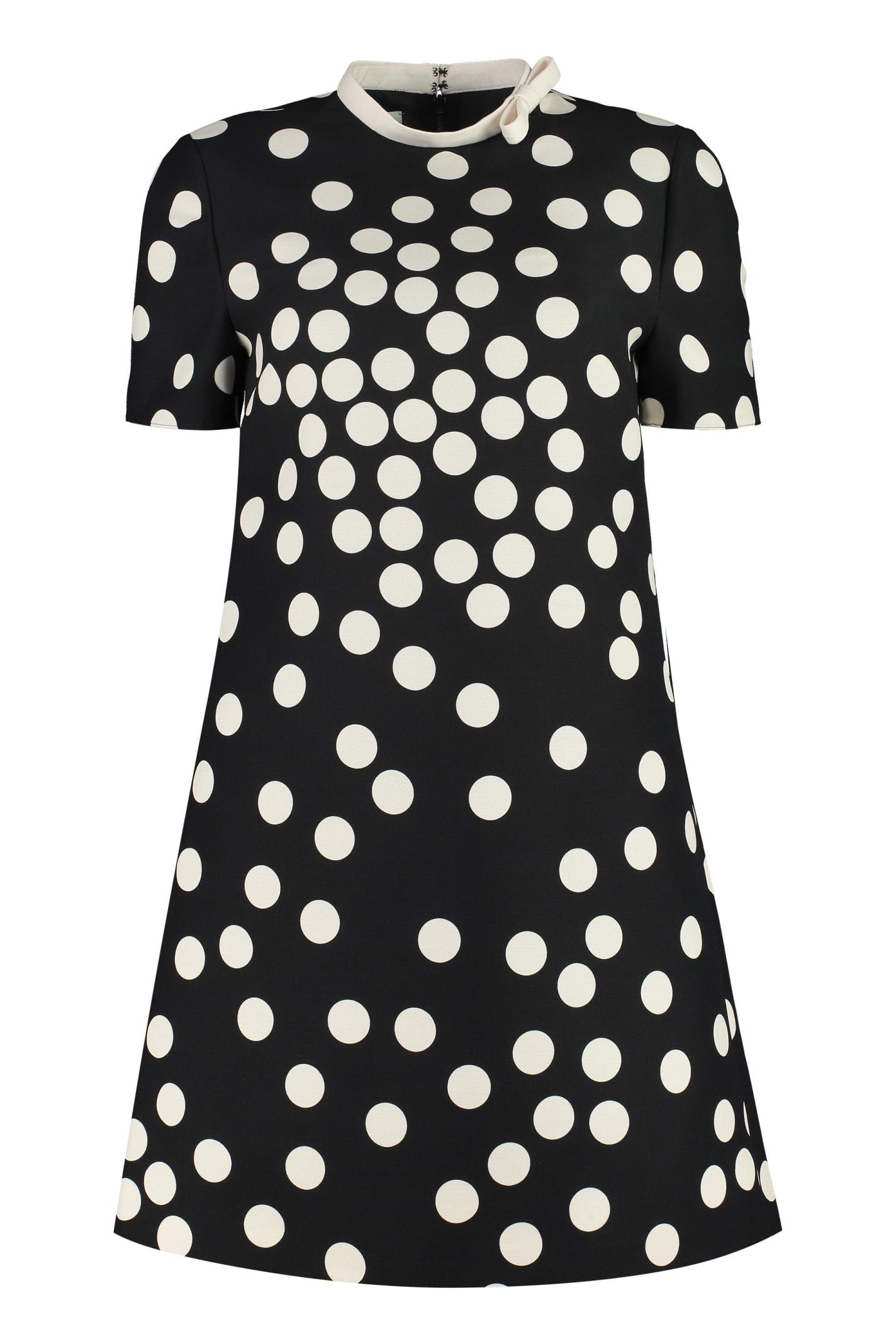 Valentino Polka-dot Mini-dress