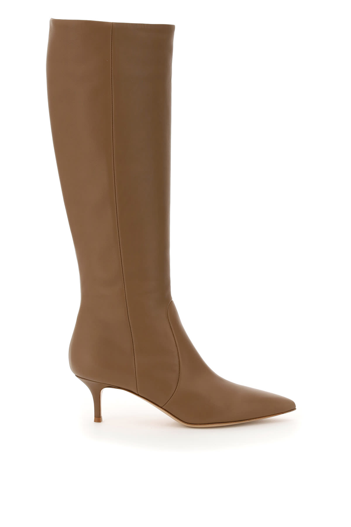 Gianvito Rossi JANE LEATHER BOOTS