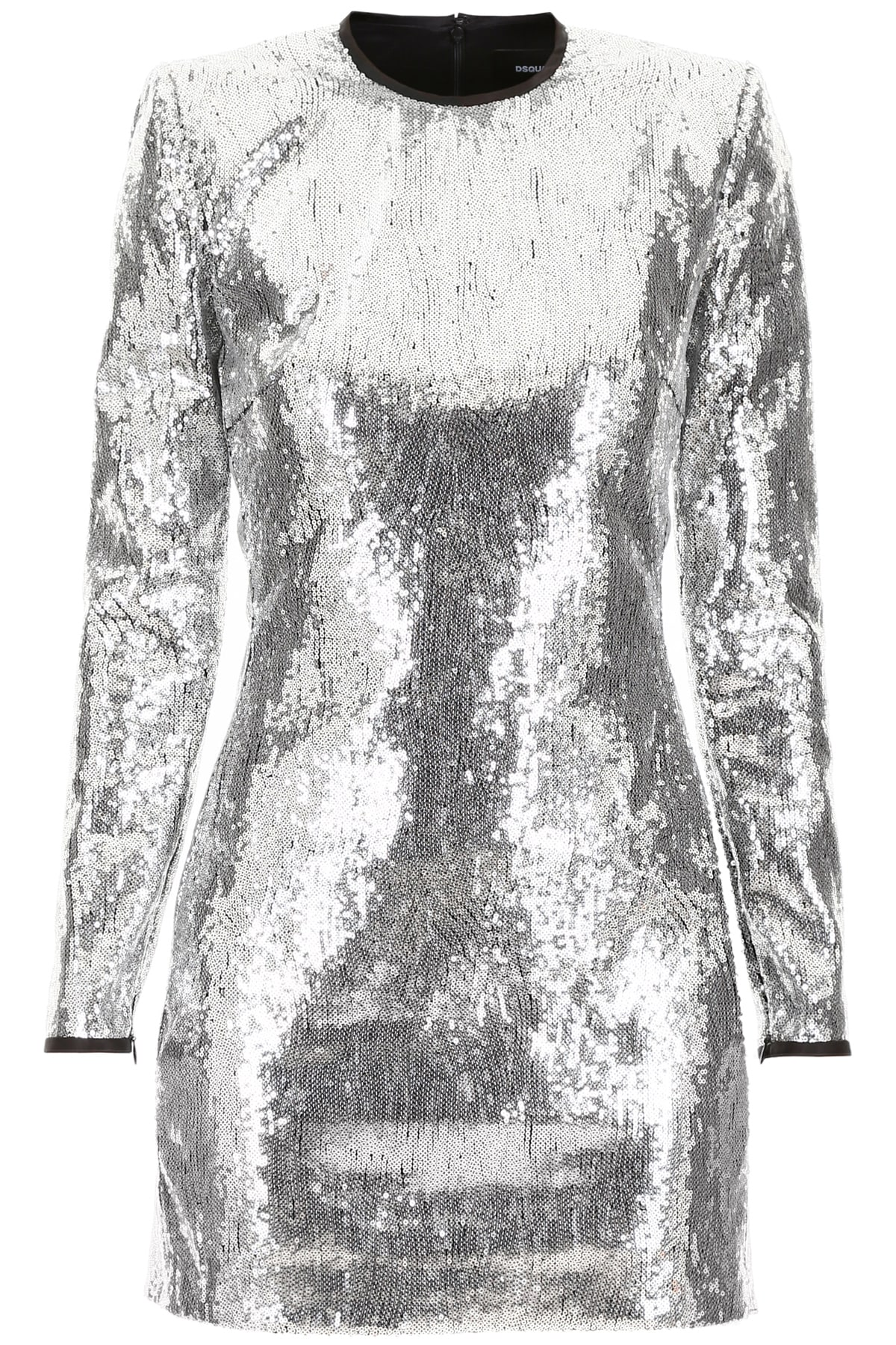 Buy Dsquared2 Sequins Dress online, shop Dsquared2 with free shipping