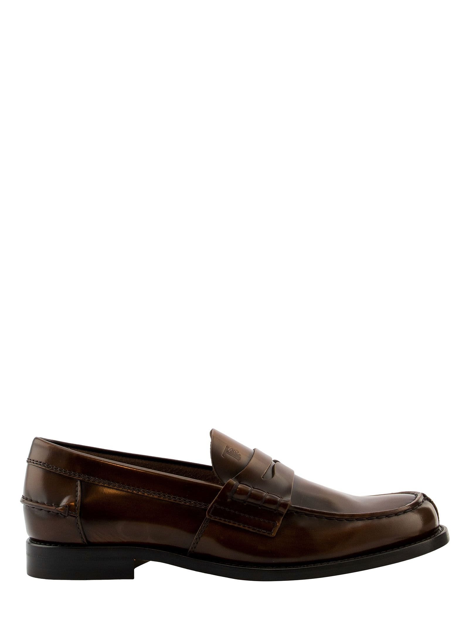Tods Loafers In Leather
