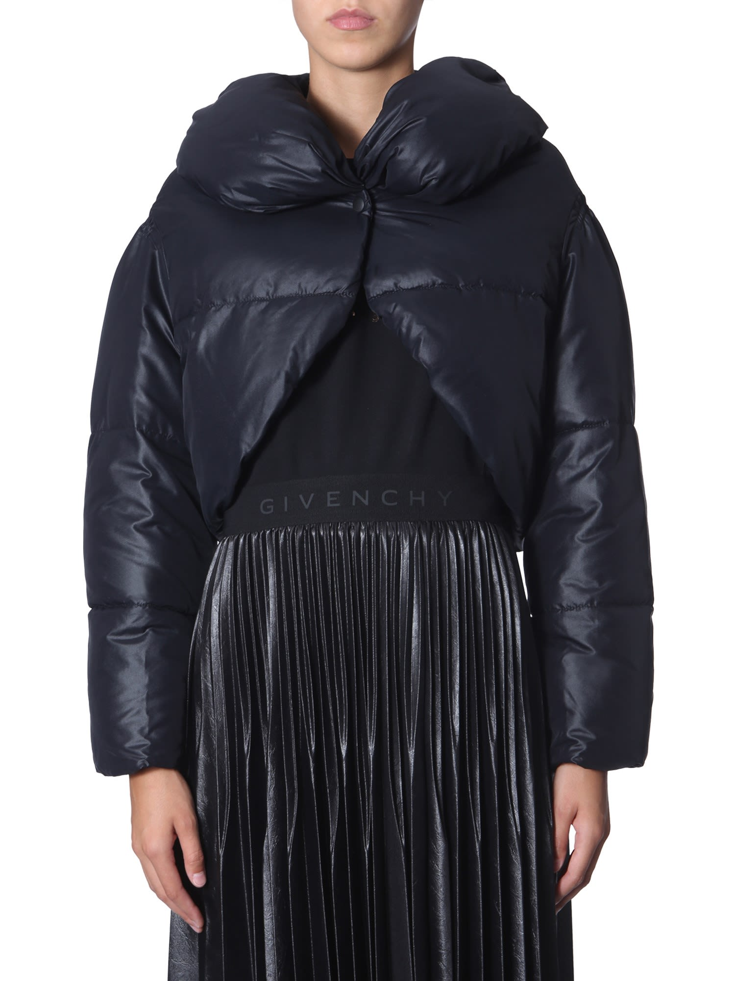 Givenchy Cropped Down Jacket