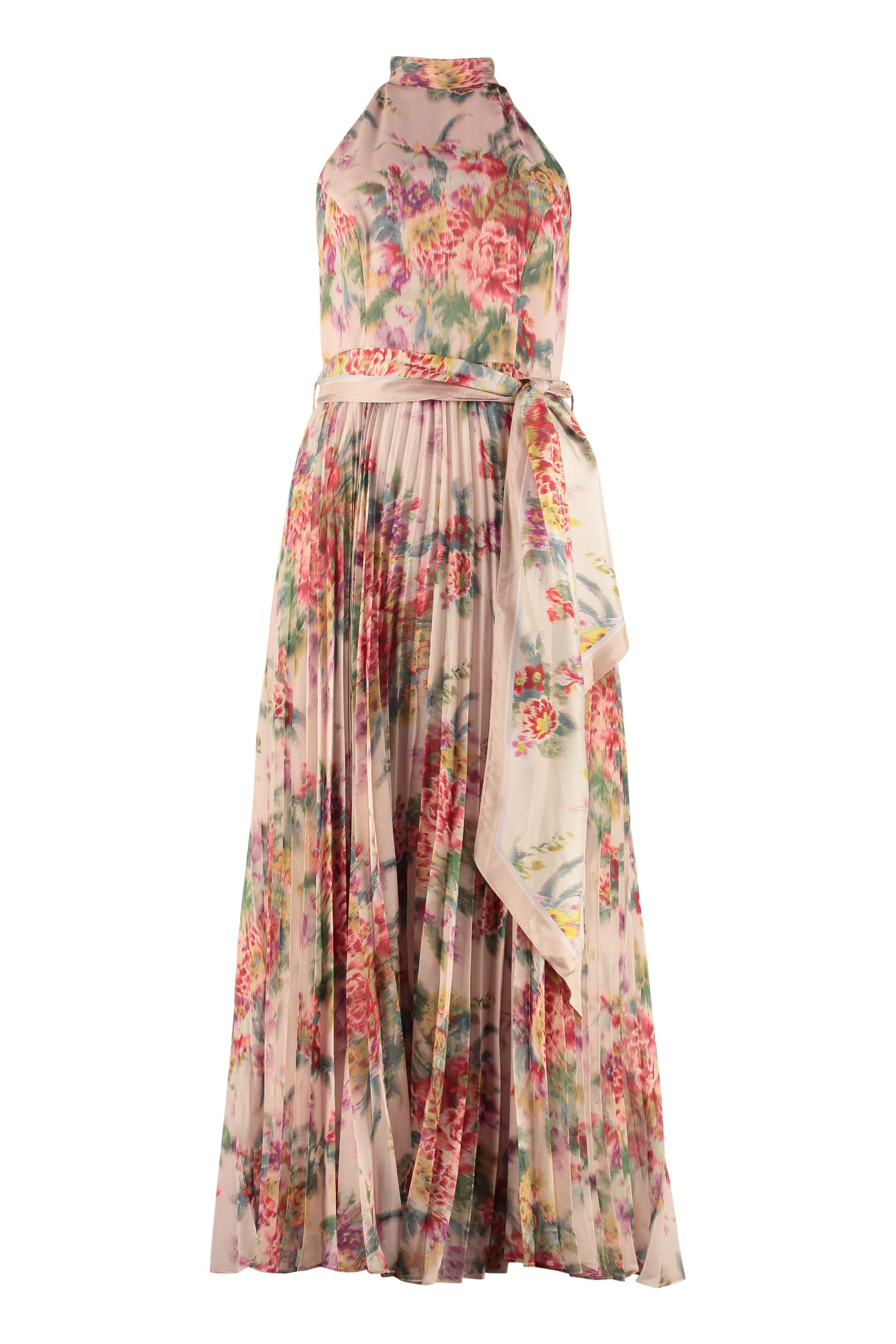 Buy Zimmermann Sunray Dress With Floral Print online, shop Zimmermann with free shipping