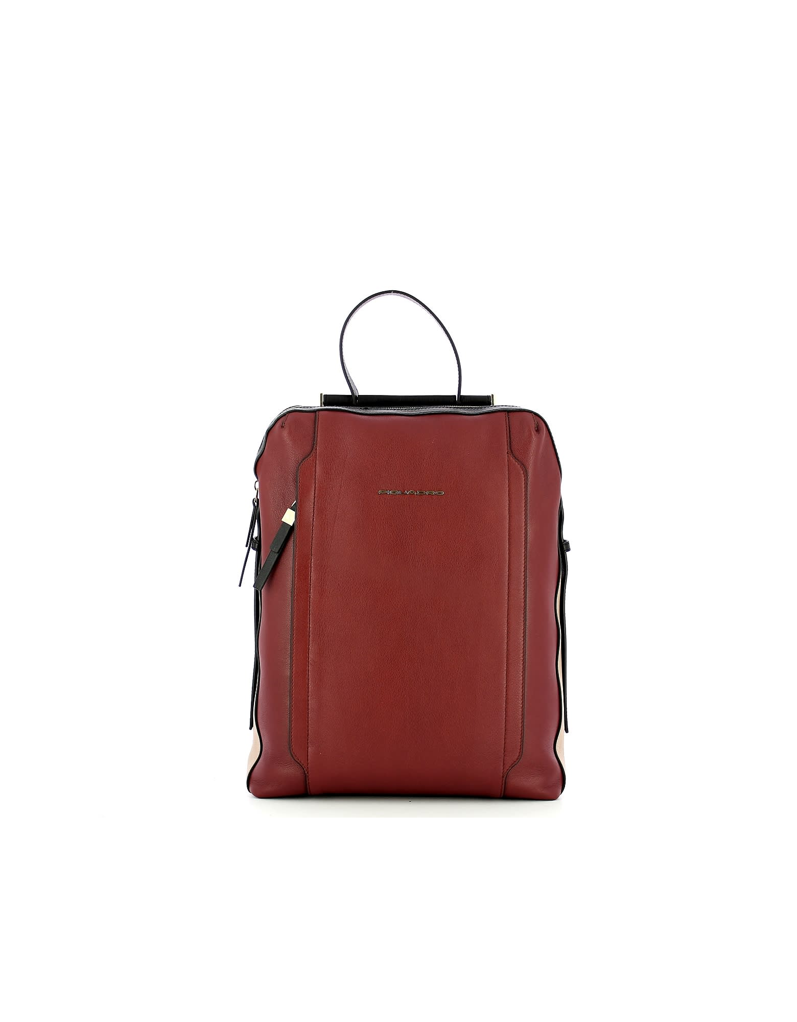 Piquadro Mens Red Backpack