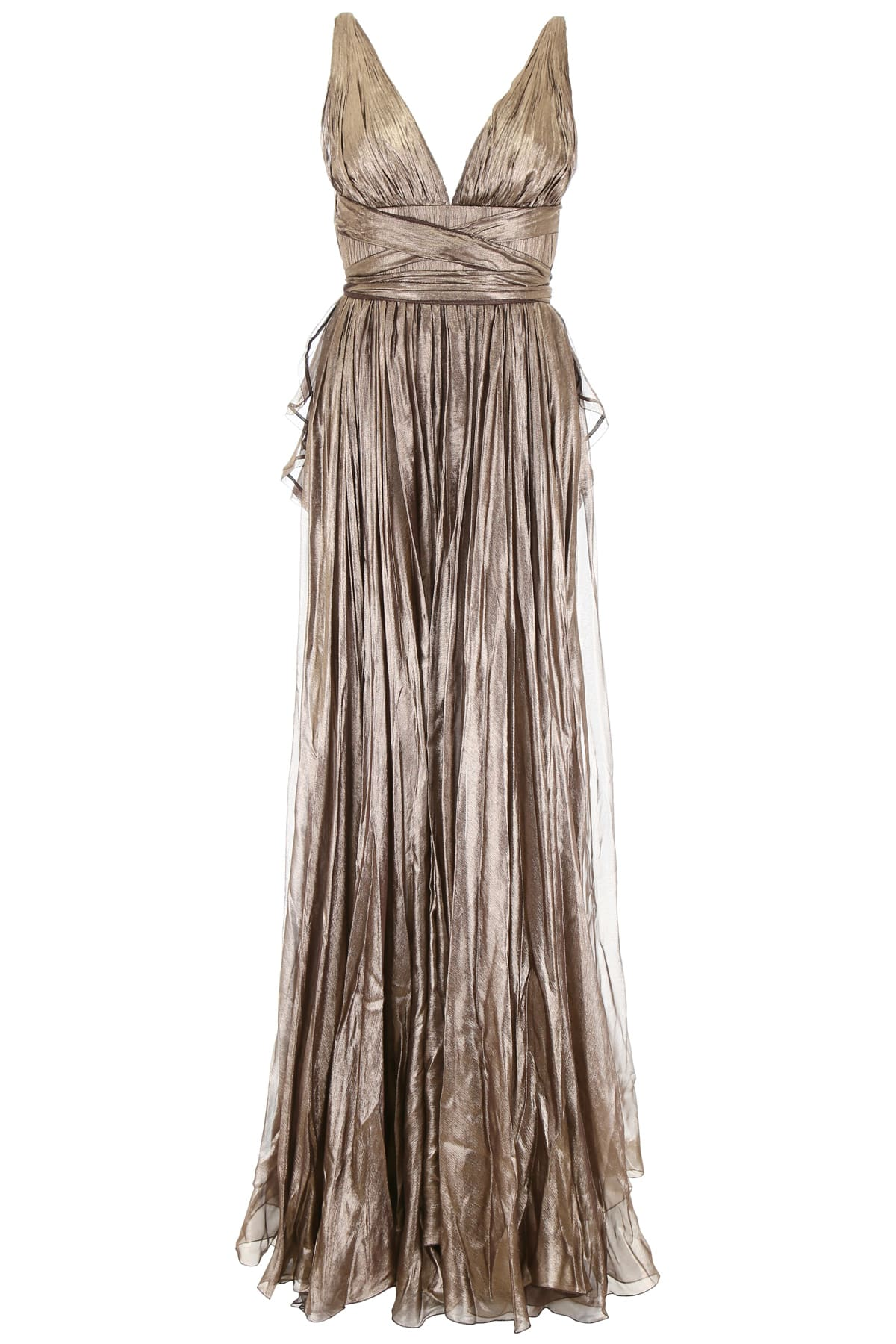 Maria Lucia Hohan Metallic Silk Lucia Dress