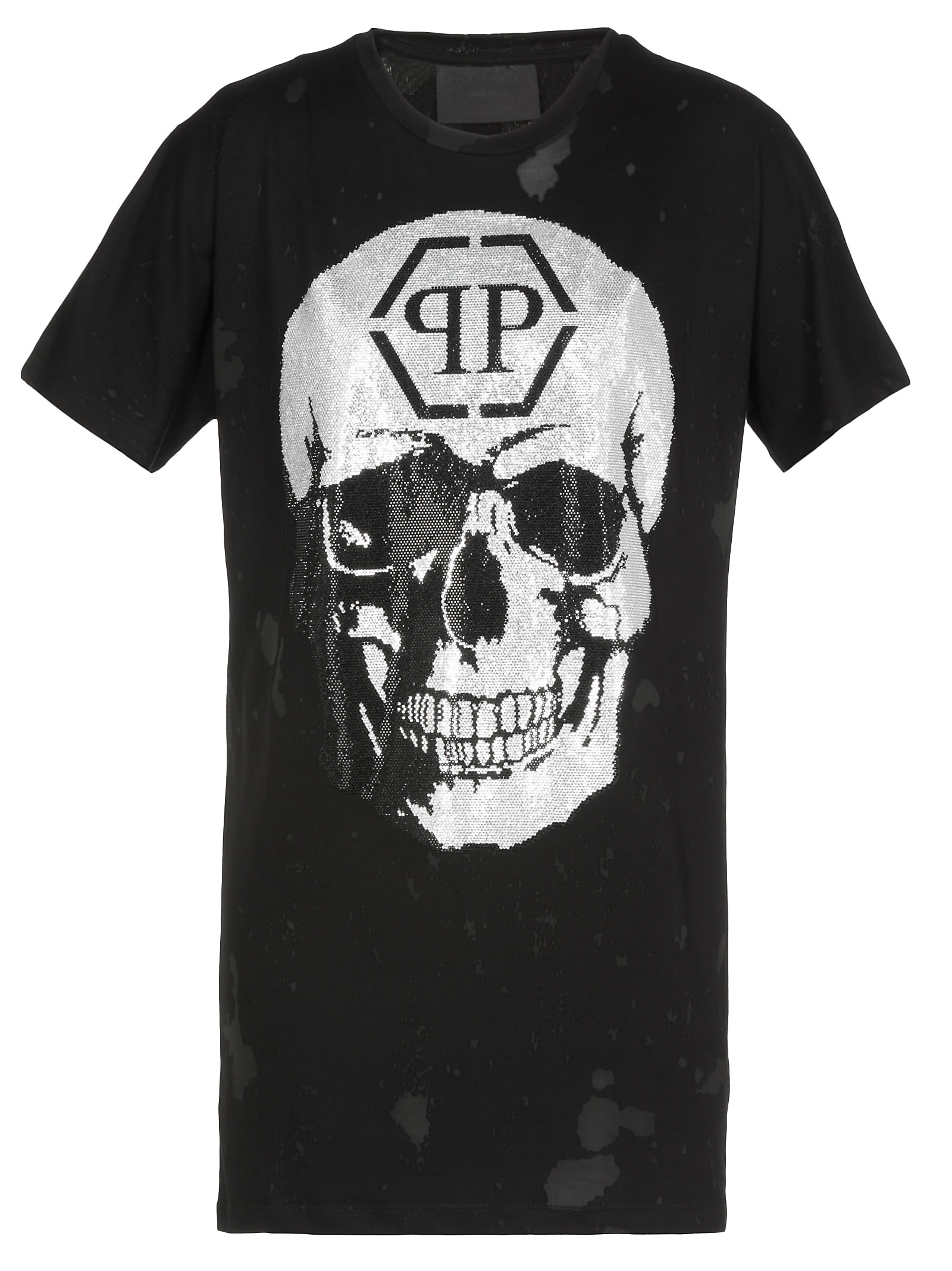 Buy Philipp Plein Dress With Skull online, shop Philipp Plein with free shipping