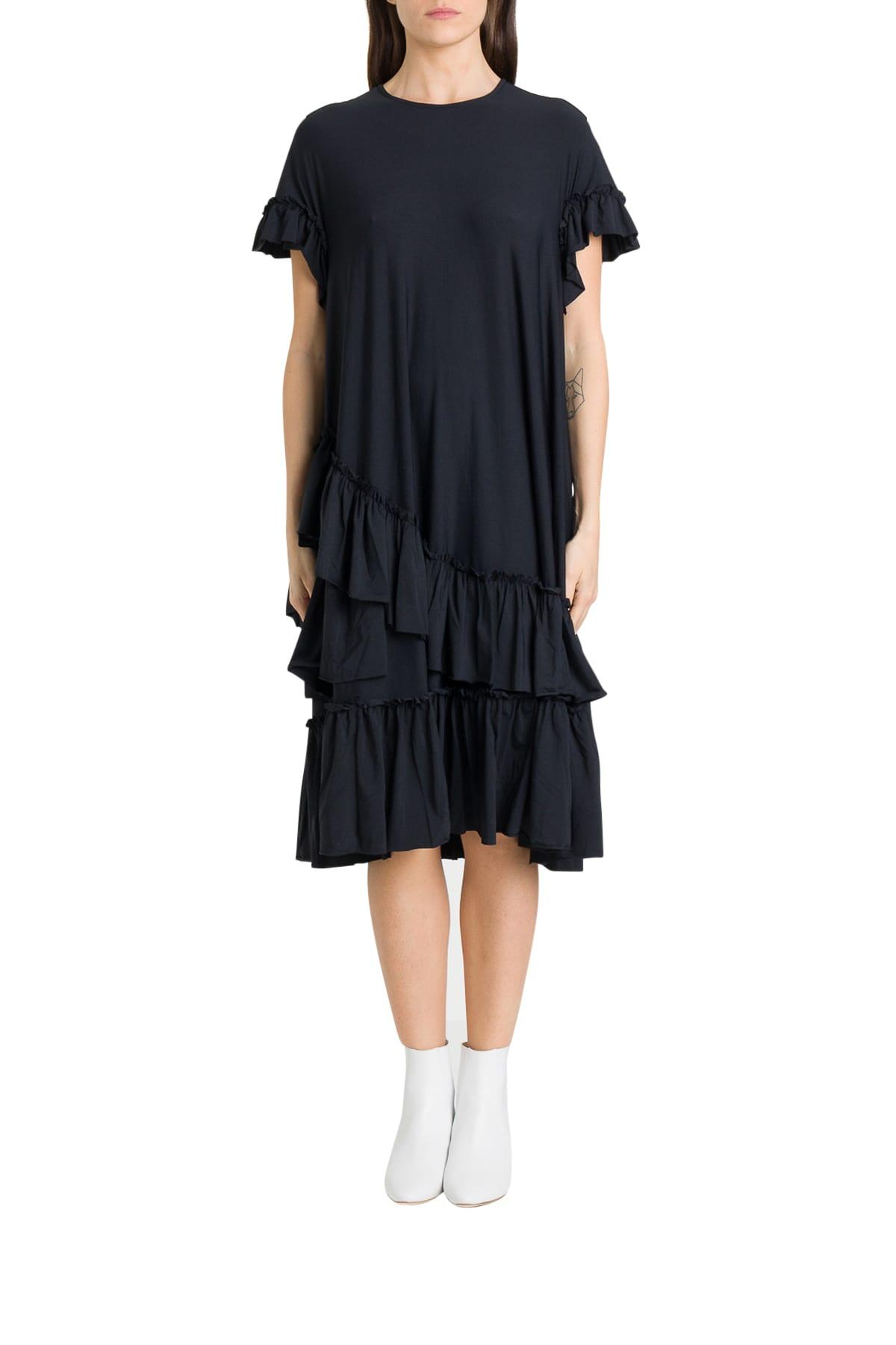 Buy Simone Rocha Flounces Midi Dress online, shop Simone Rocha with free shipping