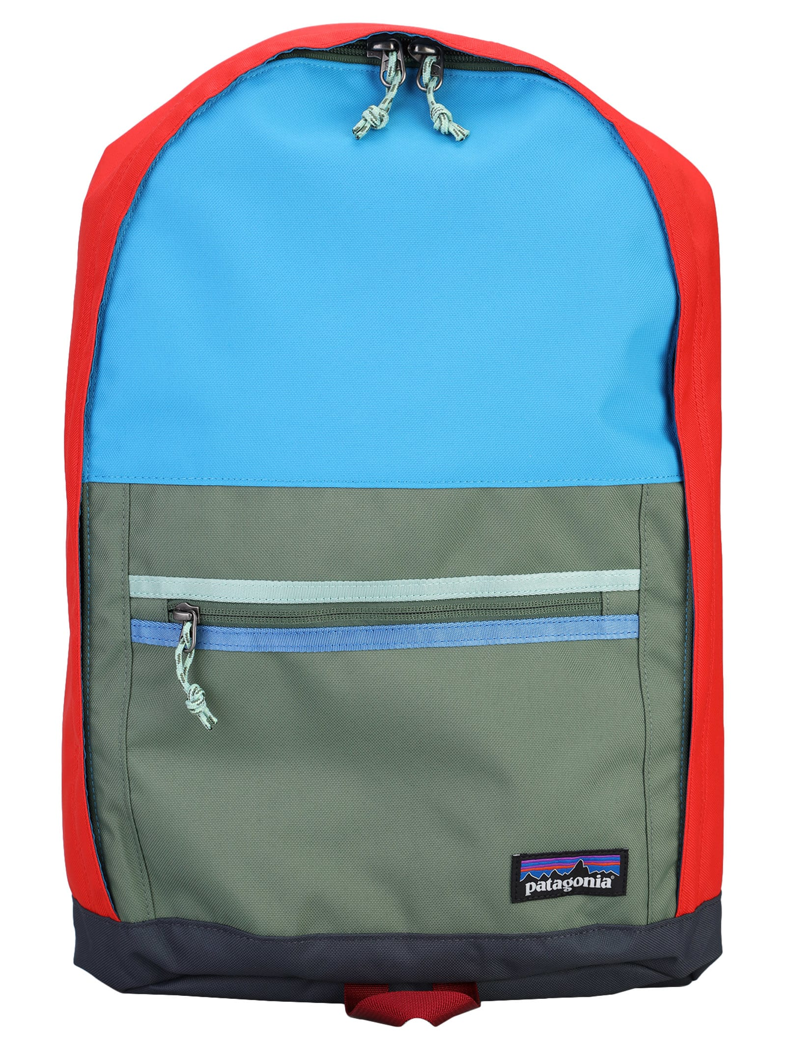 Multicolor Arbor Daypack By Patagonia. Featuring: - Top Handle; - Double Way Top Zip Fastening; - Front Zip Pocket; - Logo Patch To The Front; - Adjustable Shoulder Straps; - Internal Slip Pocket. Composition: 100% RECYCLED POLYESTER