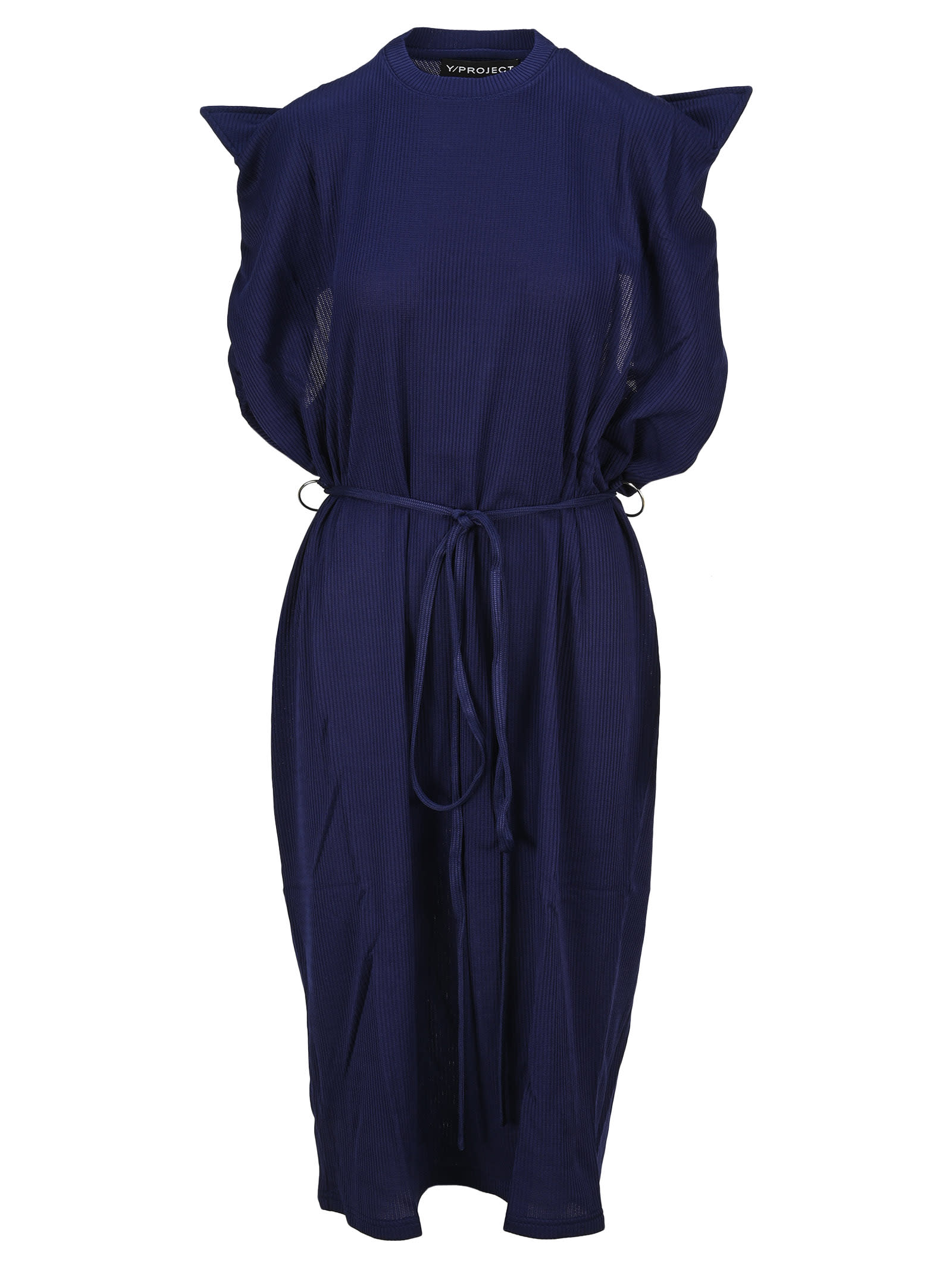 Buy Y/project Y/project Folded Collar Dress online, shop Y/Project with free shipping