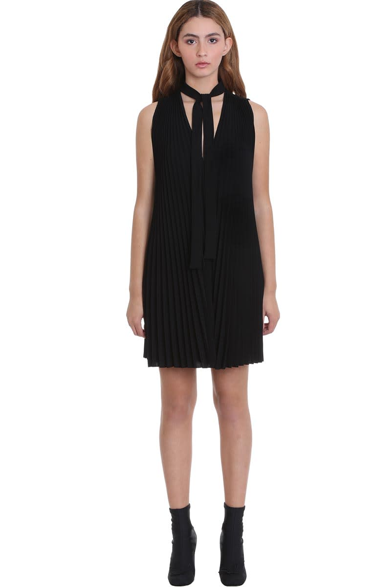 Buy RED Valentino Dress In Black Polyester online, shop RED Valentino with free shipping