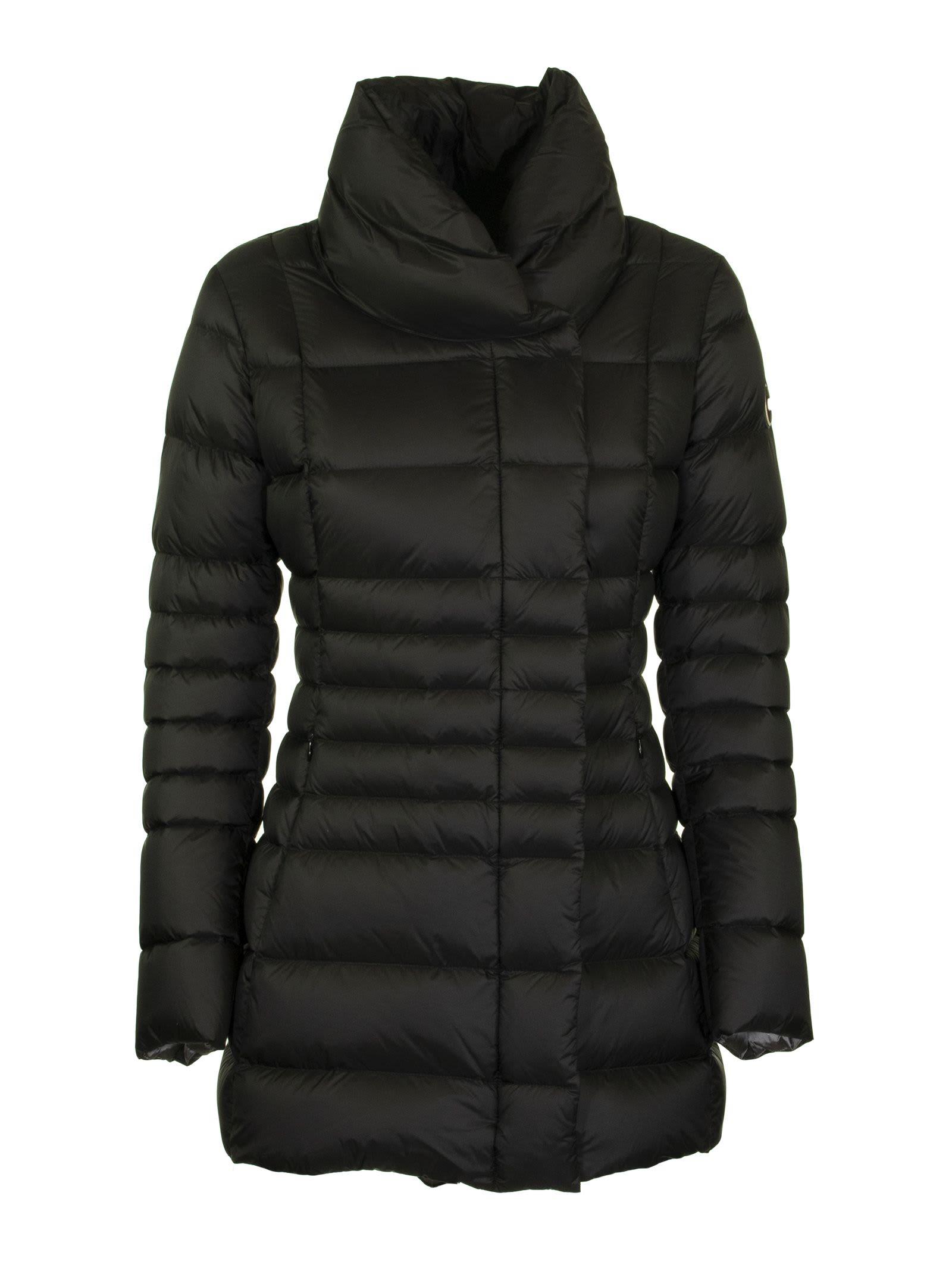 Colmar High-neck Black Down Jacket