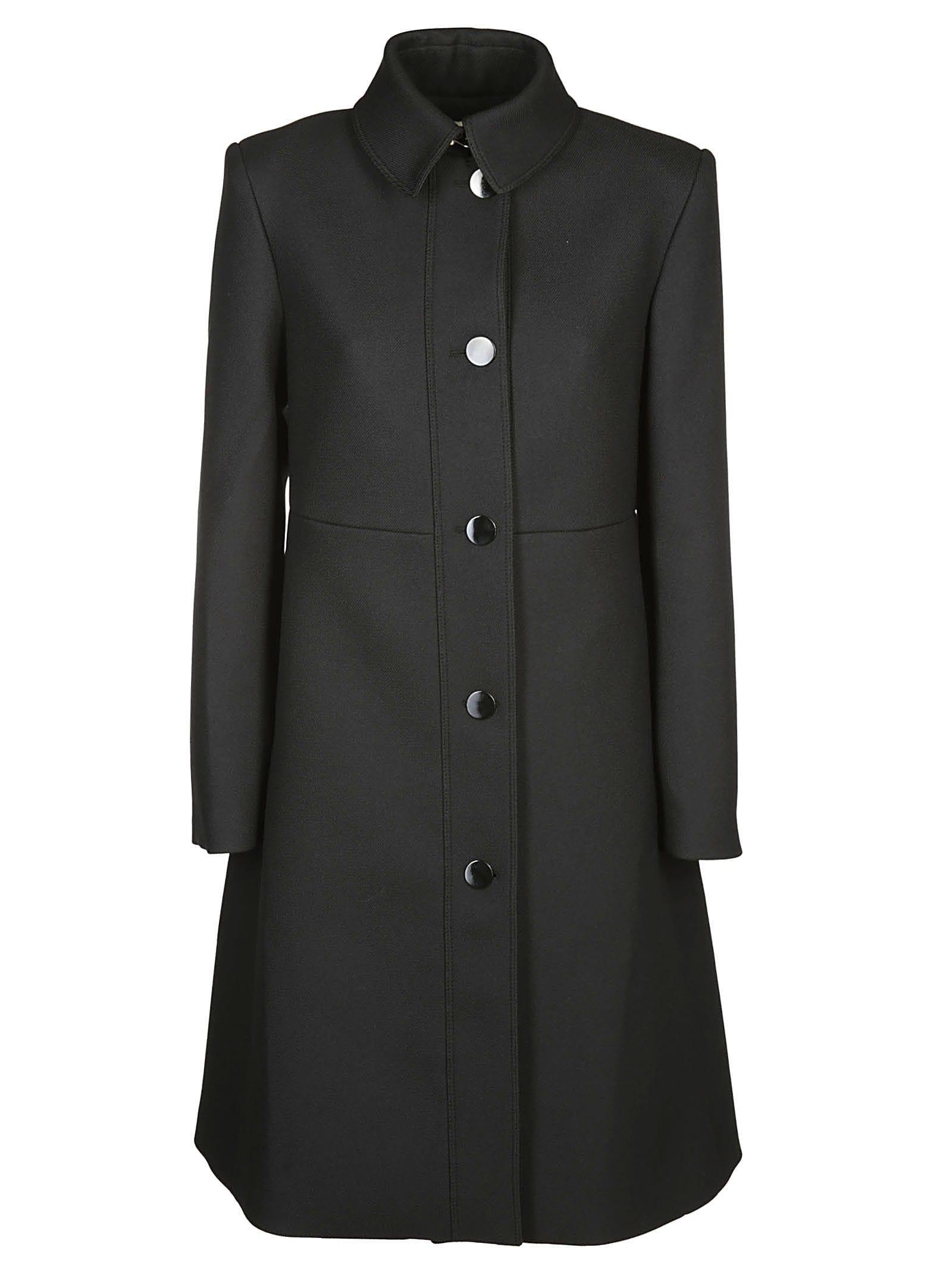Mulberry Single Breasted Coat