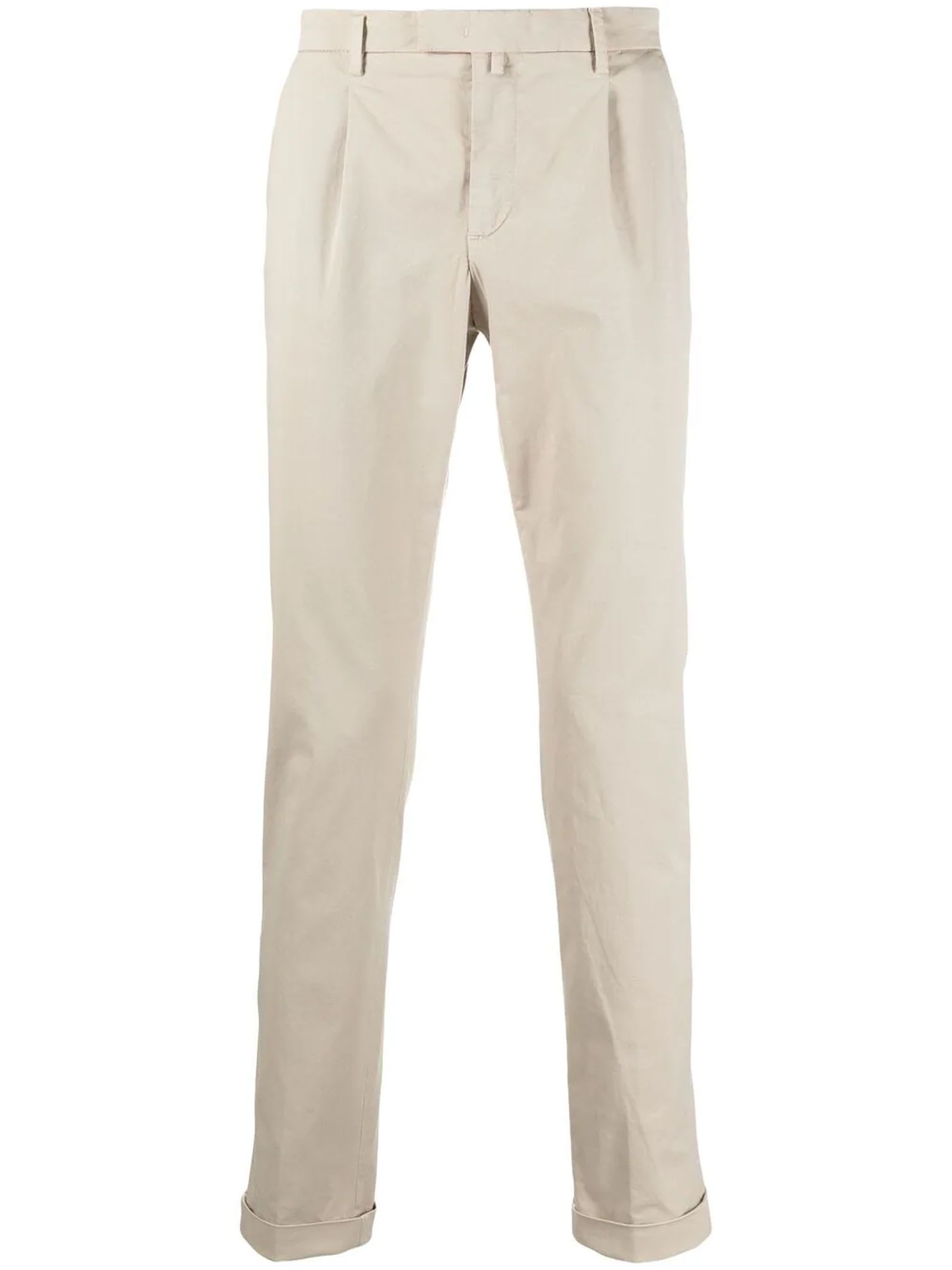 1949 Beige Stretch Cotton Chino Trousers