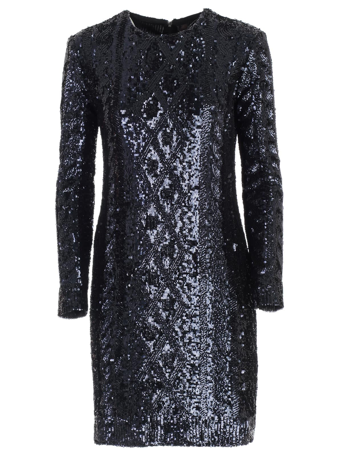 Max Mara Nicia Knit Dress W & paillettes