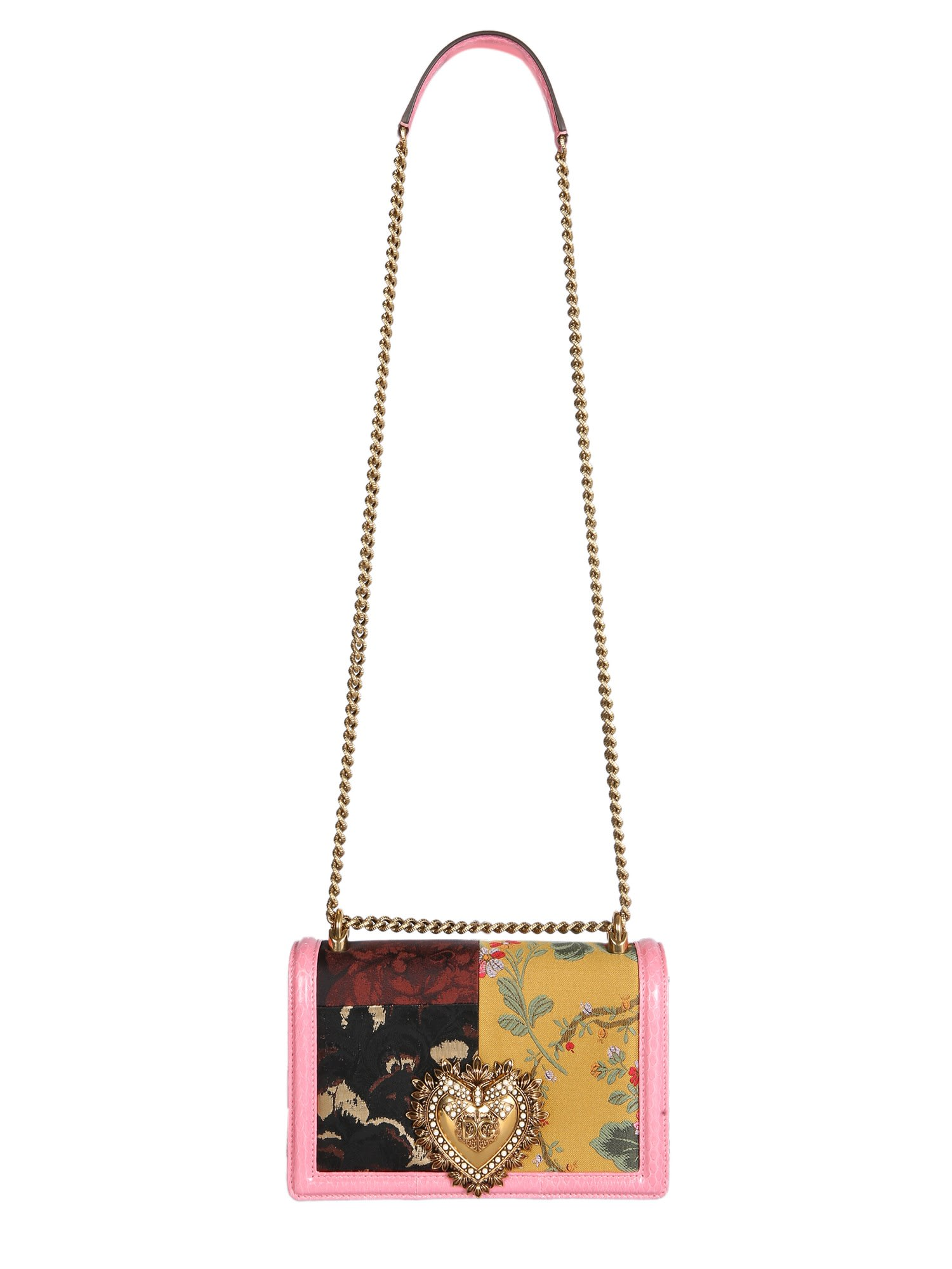 Dolce & Gabbana Leathers MEDIUM DEVOTION BAG