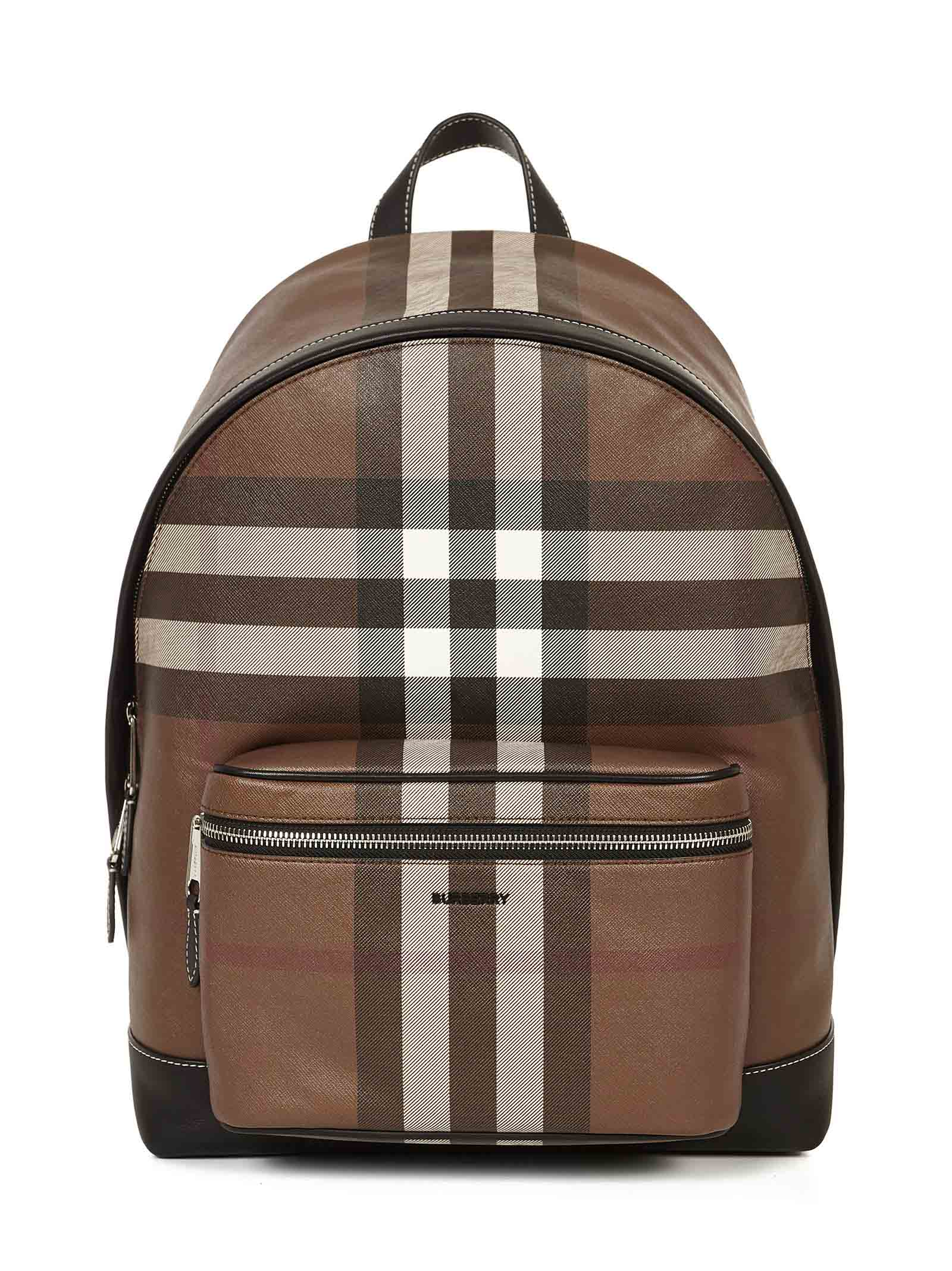 Burberry Men's Rucksack Backpack Travel In Brown