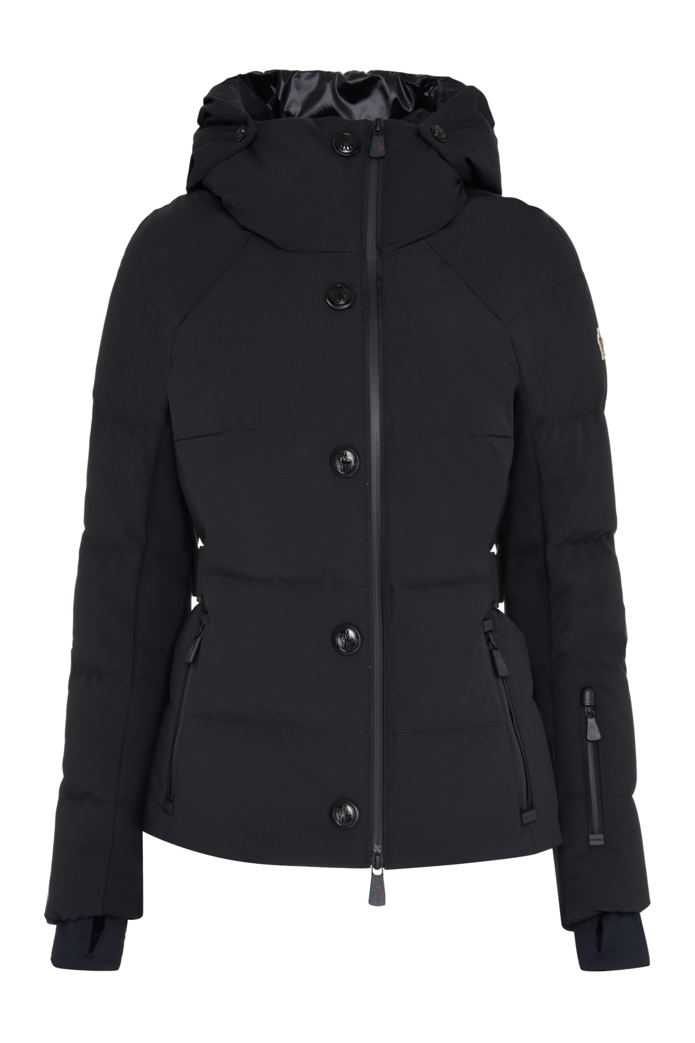 Moncler Grenoble Guyane Hooded Short Down Jacket