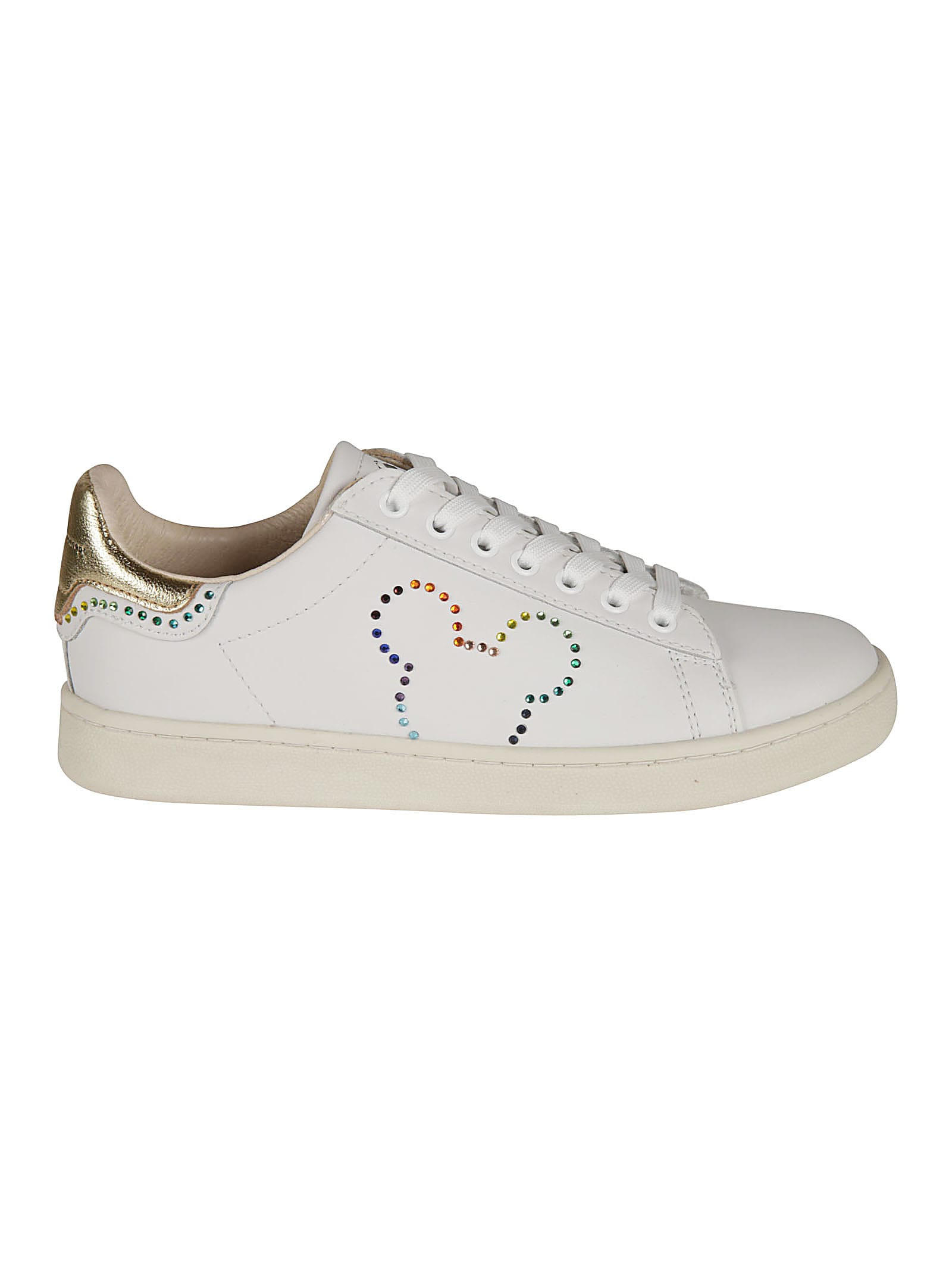Moa Master Of Arts RAINBOW STRASS MICKEY MOUSE GALLERY SNEAKERS