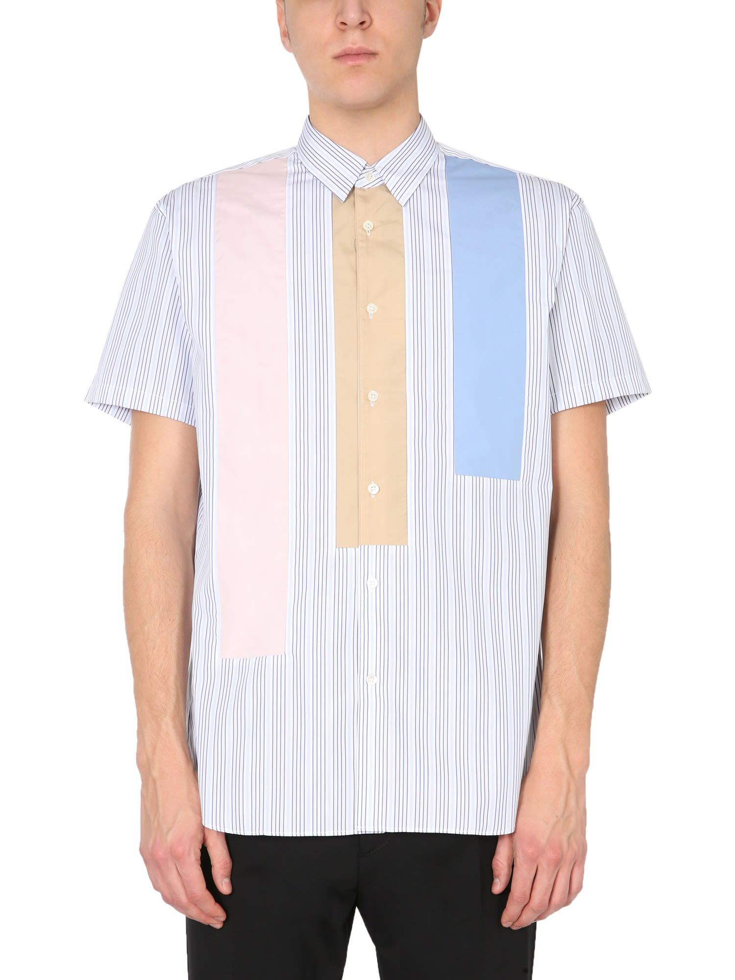 Comme Des Garçons Shirt Cottons STRIPE PATTERN SHIRT
