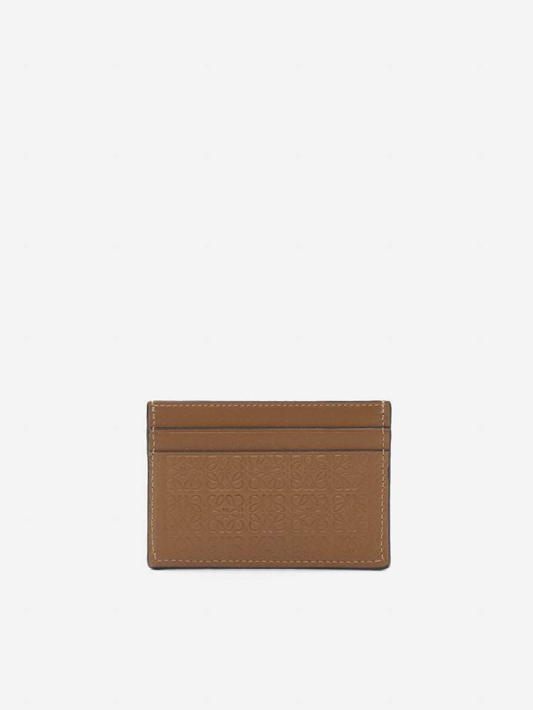 Loewe Leather Card Holder With Anagram