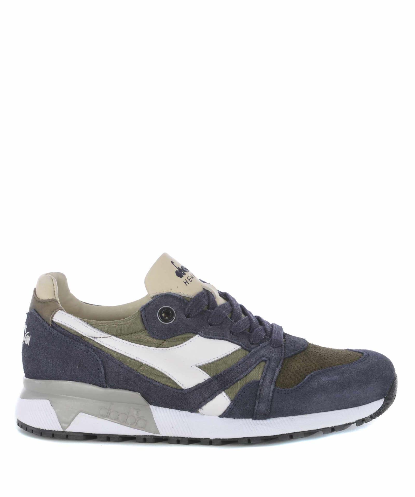 online retailer 8c6fc 65696 Diadora Heritage N9000 Sneakers - Blu/verde militare ...