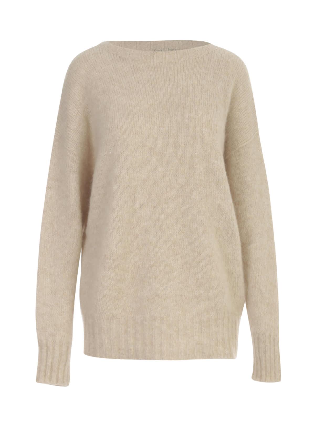 Boat Neck L/s Sweater
