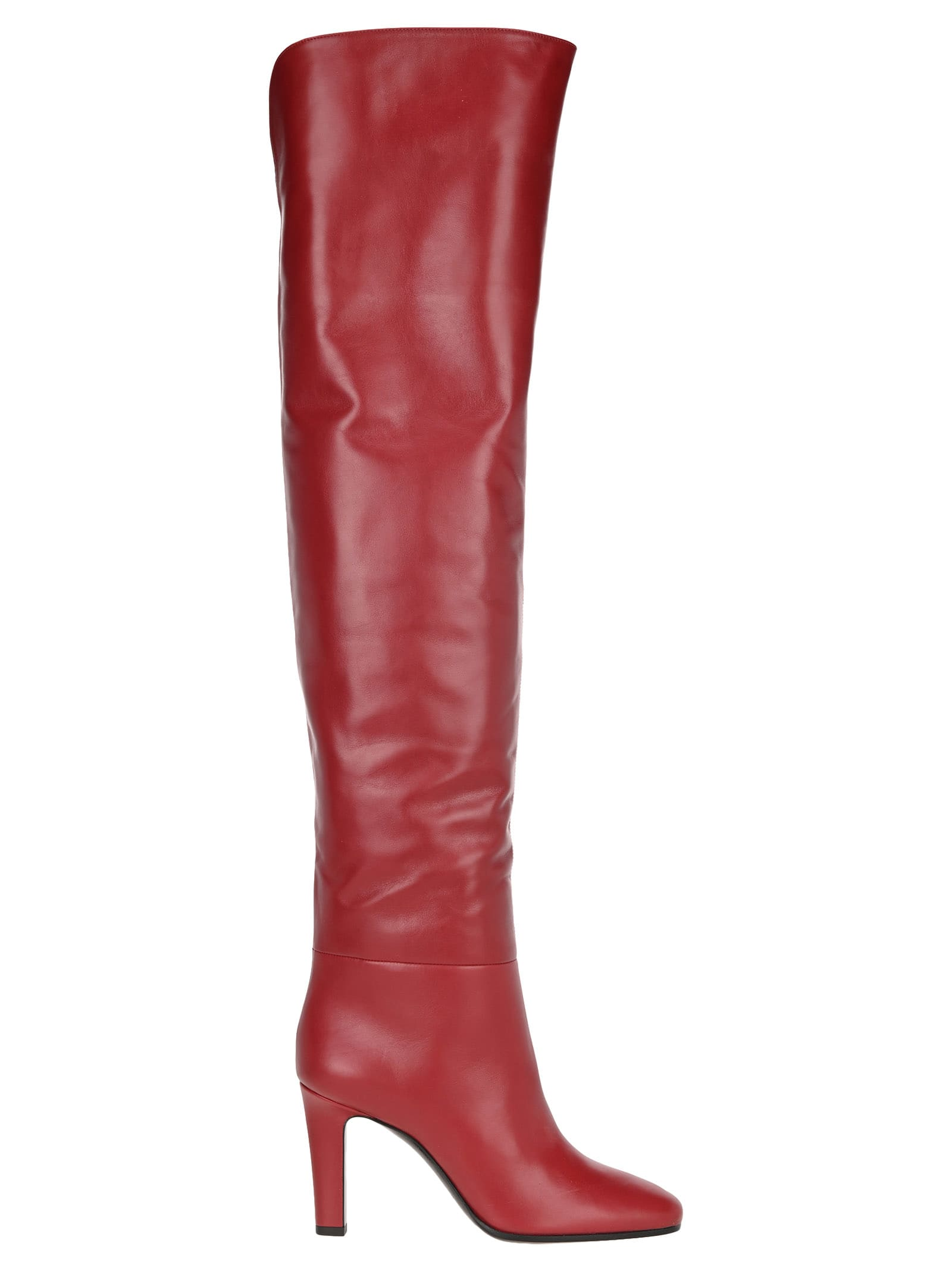 Saint Laurent Over The Knee Jane Boots