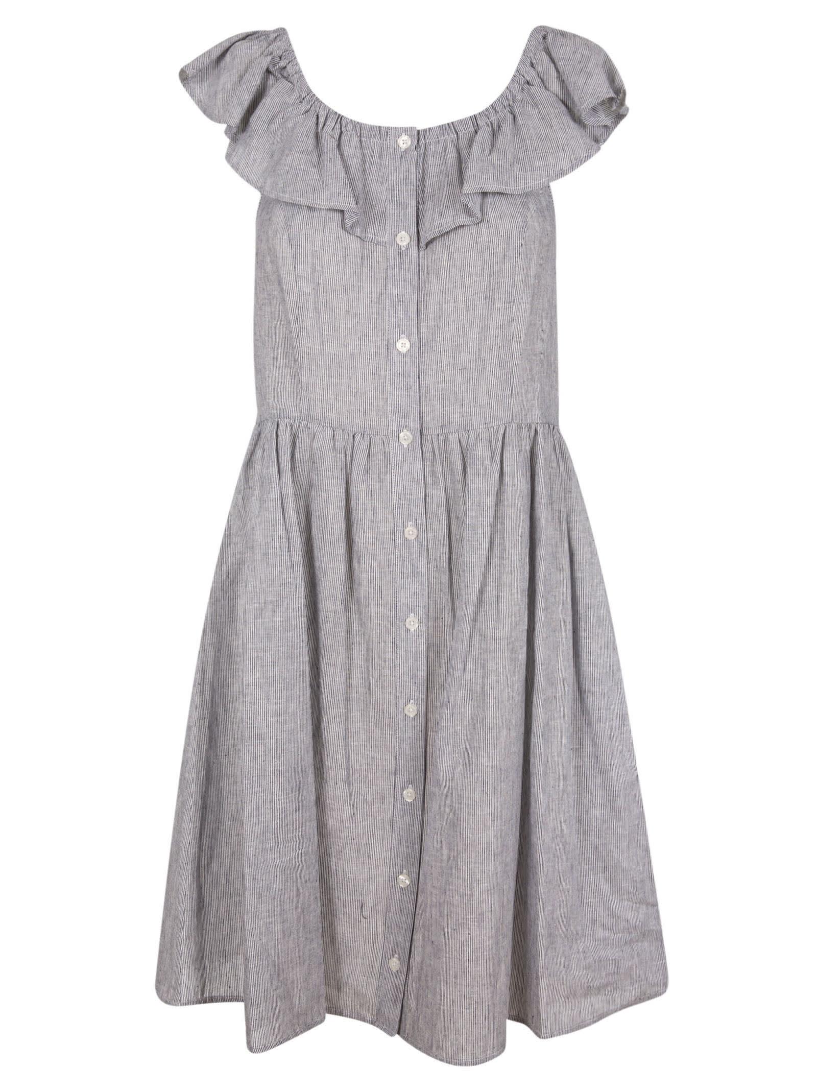 Buy Michael Kors Sleeveless Ruffled Dress online, shop Michael Kors with free shipping