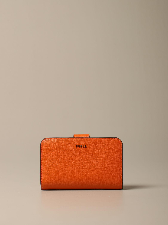 Furla Wallet Babylon M Compact Furla Wallet In Saffiano Leather