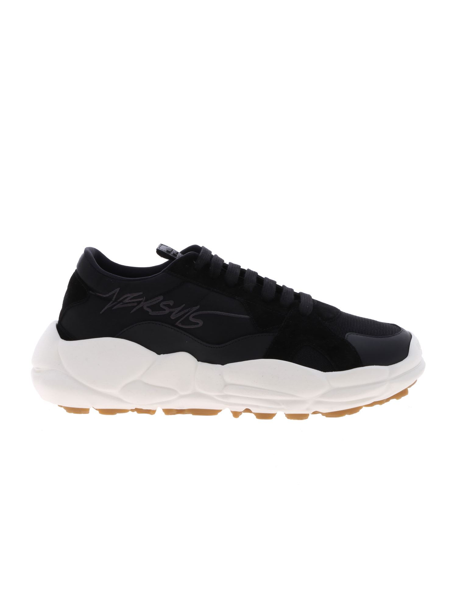 0756449e Versus Versace Logo Sneakers