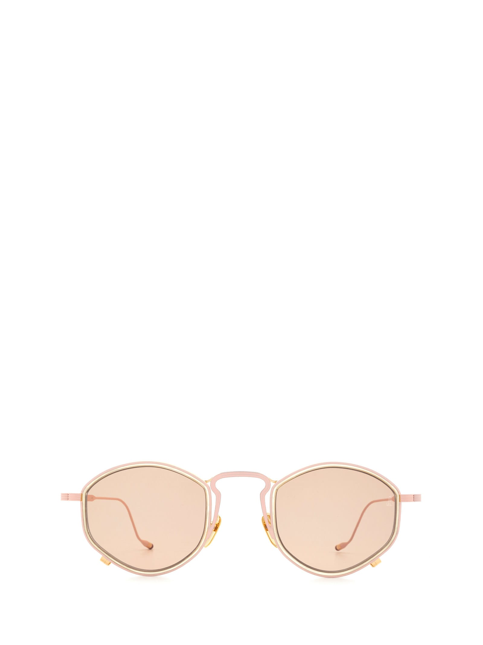 Jacques Marie Mage Jacques Marie Mage Aragon Amaranth / Light Pink Sunglasses