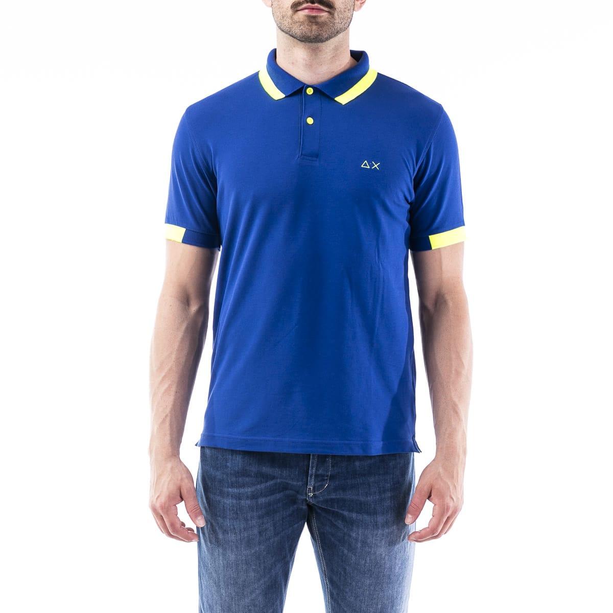 Sun68 Blend Cotton Polo Shirt