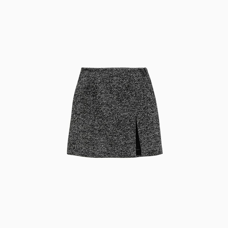 Gioia Splitted Mini Skirt T100306a