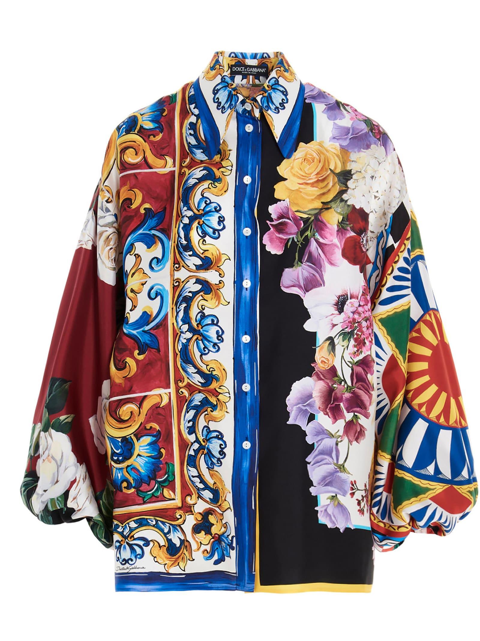 Dolce & Gabbana Silks SHIRT