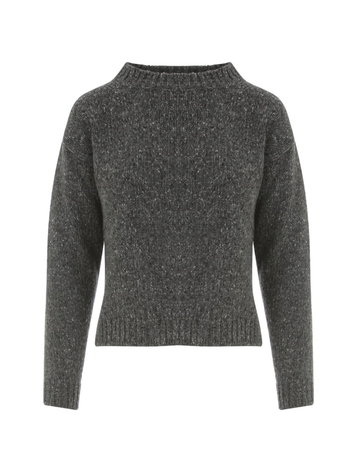 Short Crew Neck Sweater