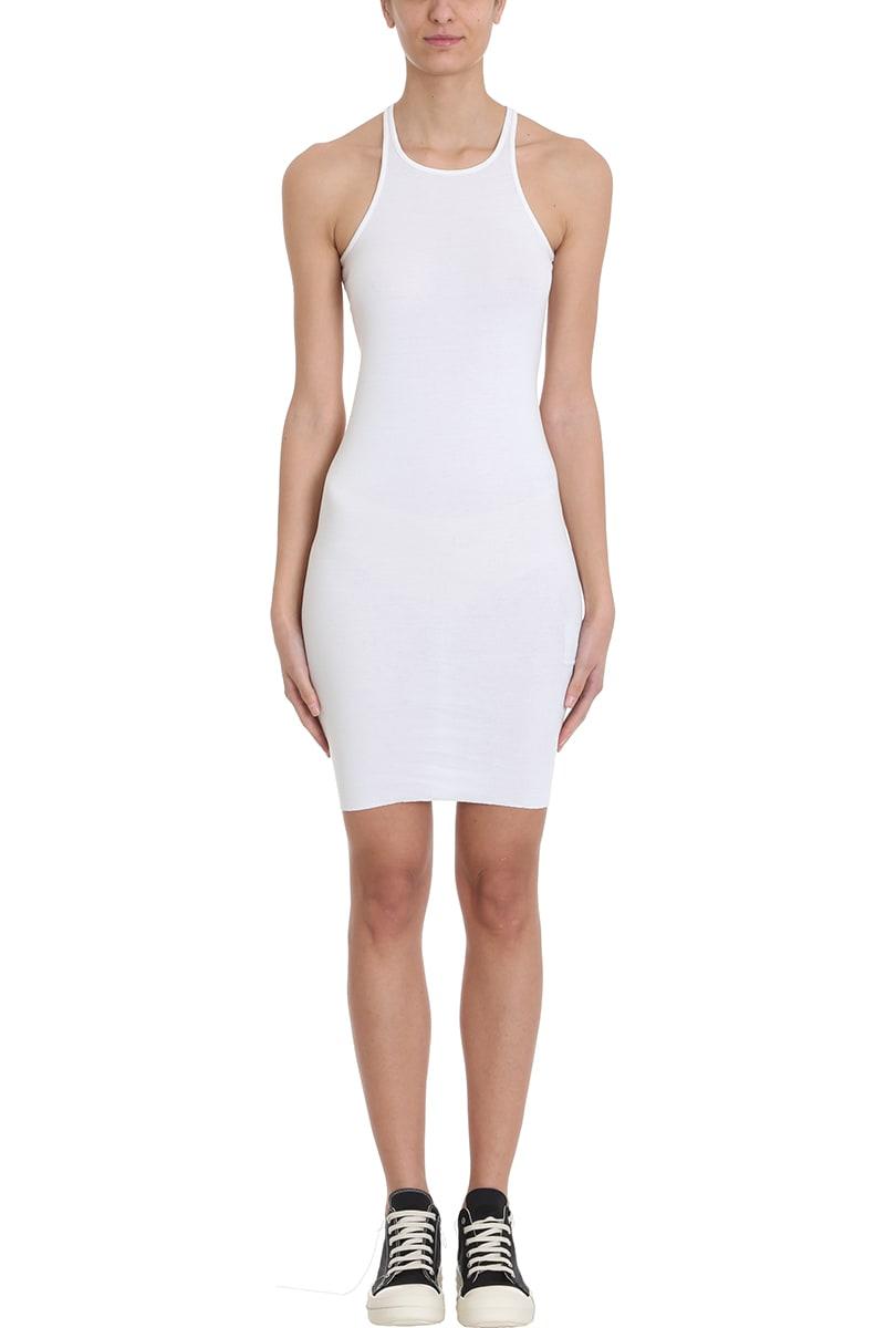 DRKSHDW Rib Tank Milk Tunic Dress