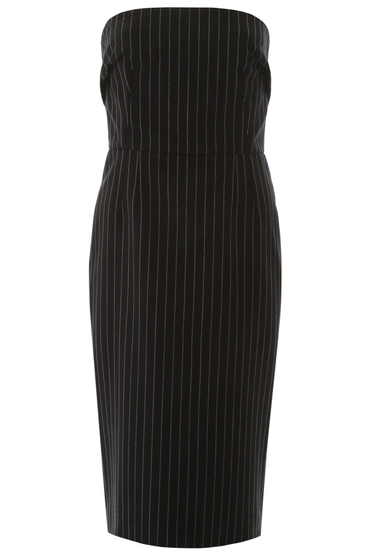 Buy Dolce & Gabbana Pinstriped Bustier Dress online, shop Dolce & Gabbana with free shipping