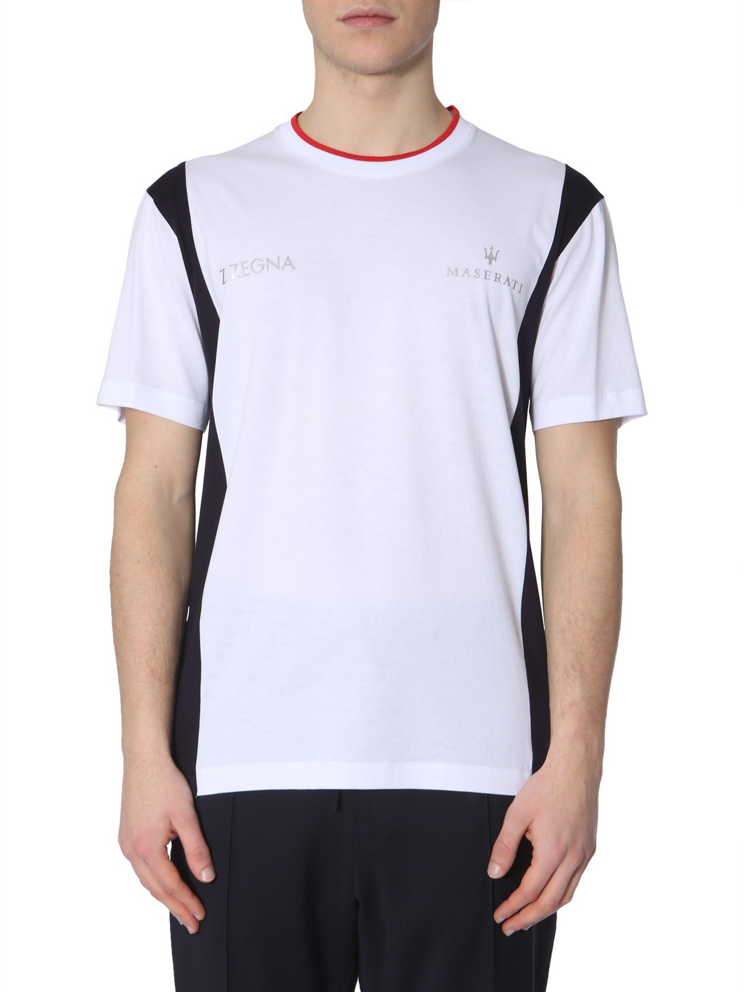 0356a2ba Z Zegna Round Neck T-shirt