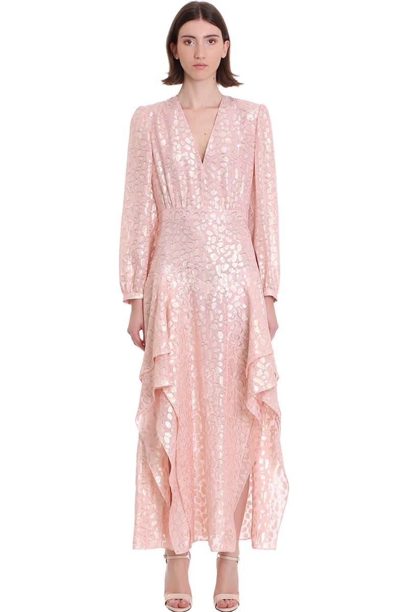 Buy Stella McCartney Katia Dress In Rose-pink Silk online, shop Stella McCartney with free shipping