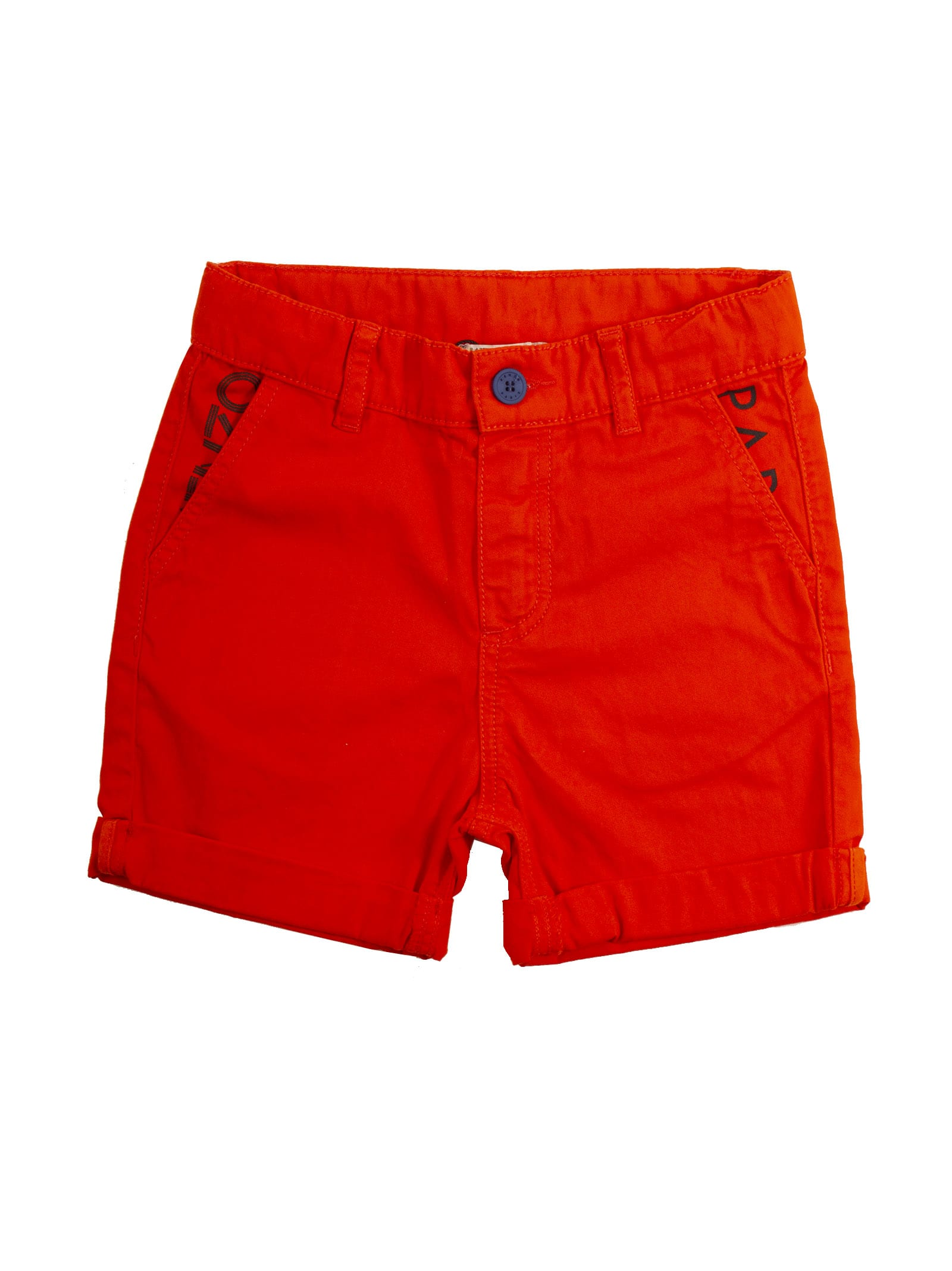Logo Print Shorts