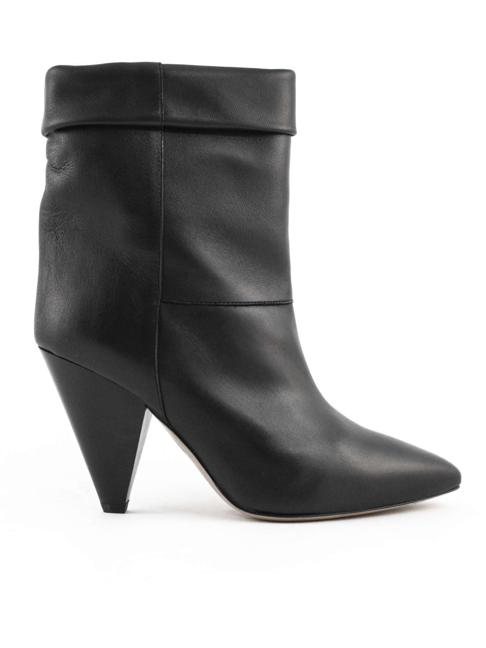 Buy Isabel Marant Black Tapered Heel Boots online, shop Isabel Marant shoes with free shipping