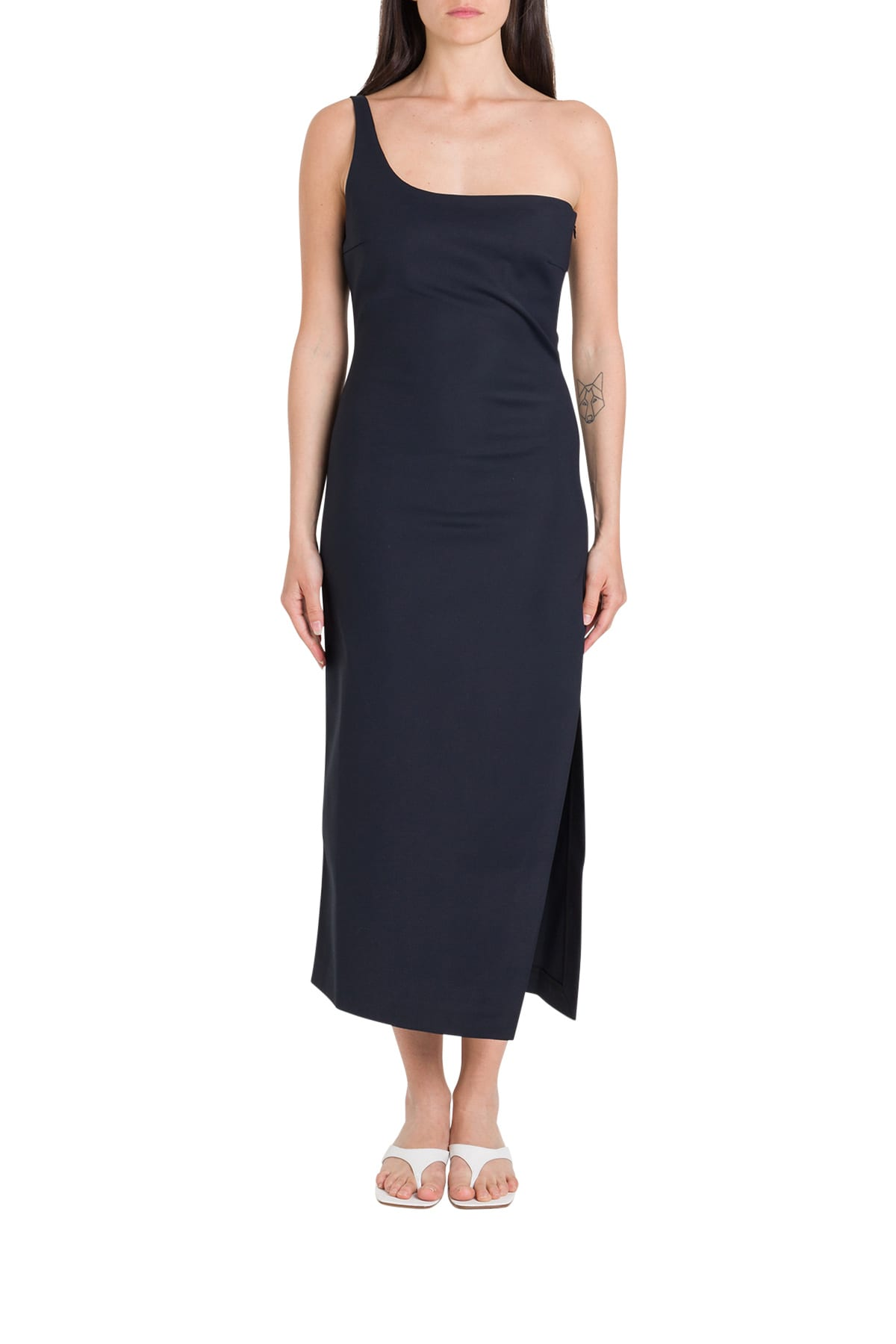 Buy Coperni One-shoulder Dress online, shop Coperni with free shipping