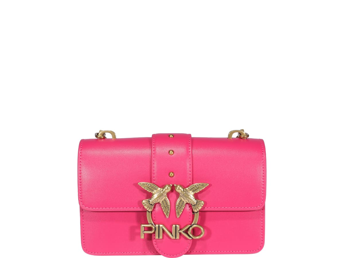 Pinko Leathers LOVE MINI ICON BAG