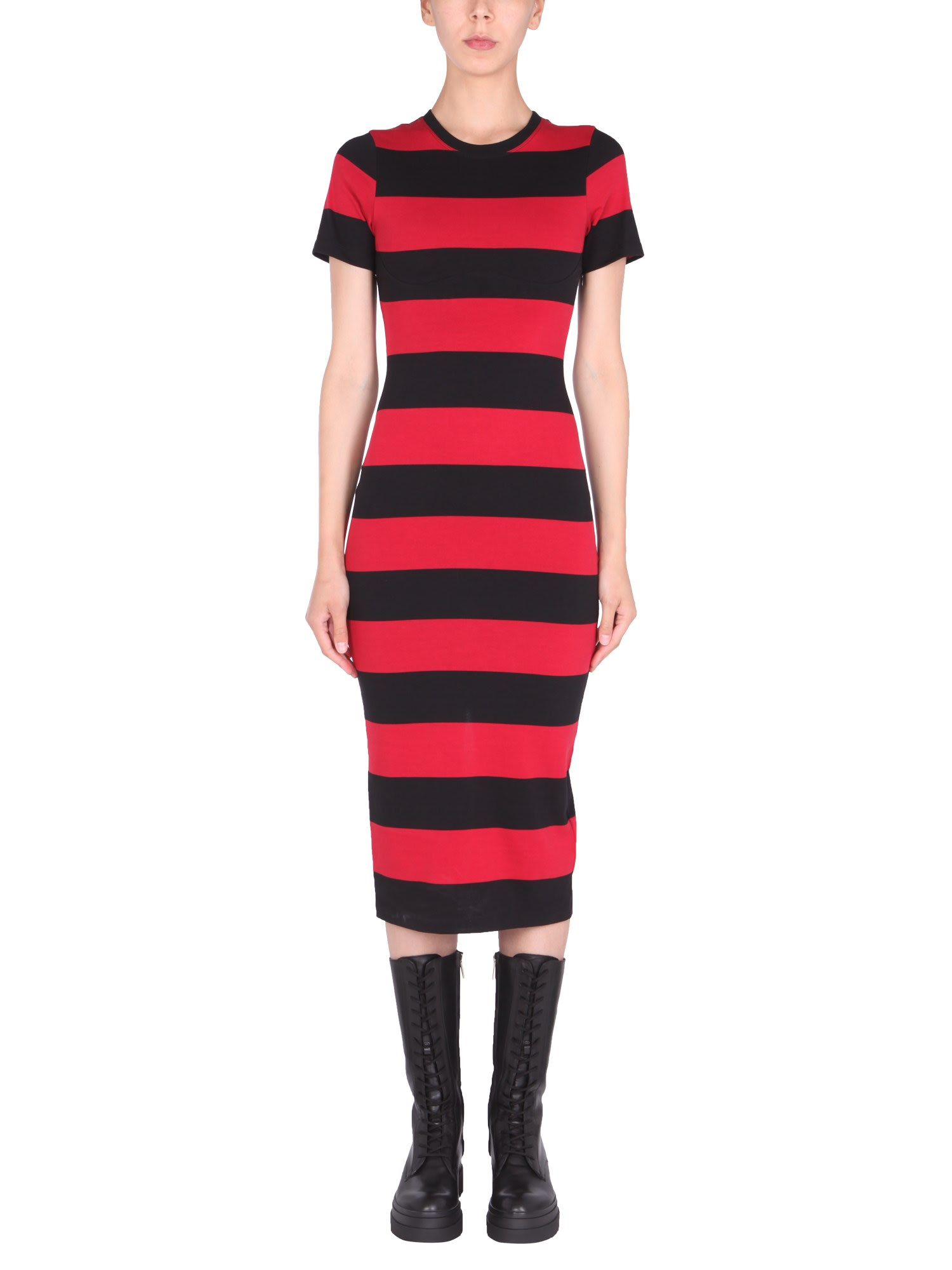 Buy RED Valentino Striped Tube Dress online, shop RED Valentino with free shipping