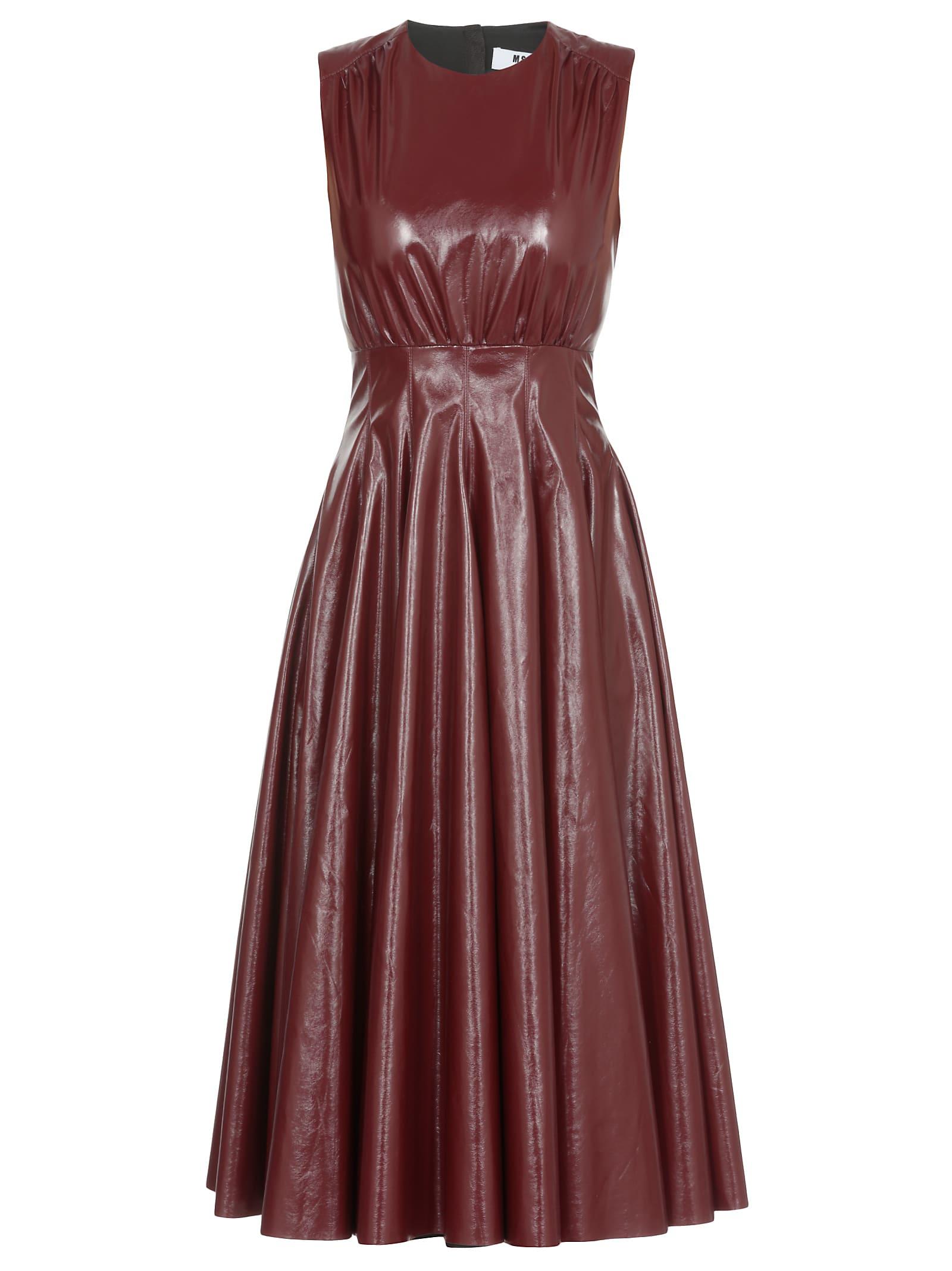 MSGM Vynil Dress